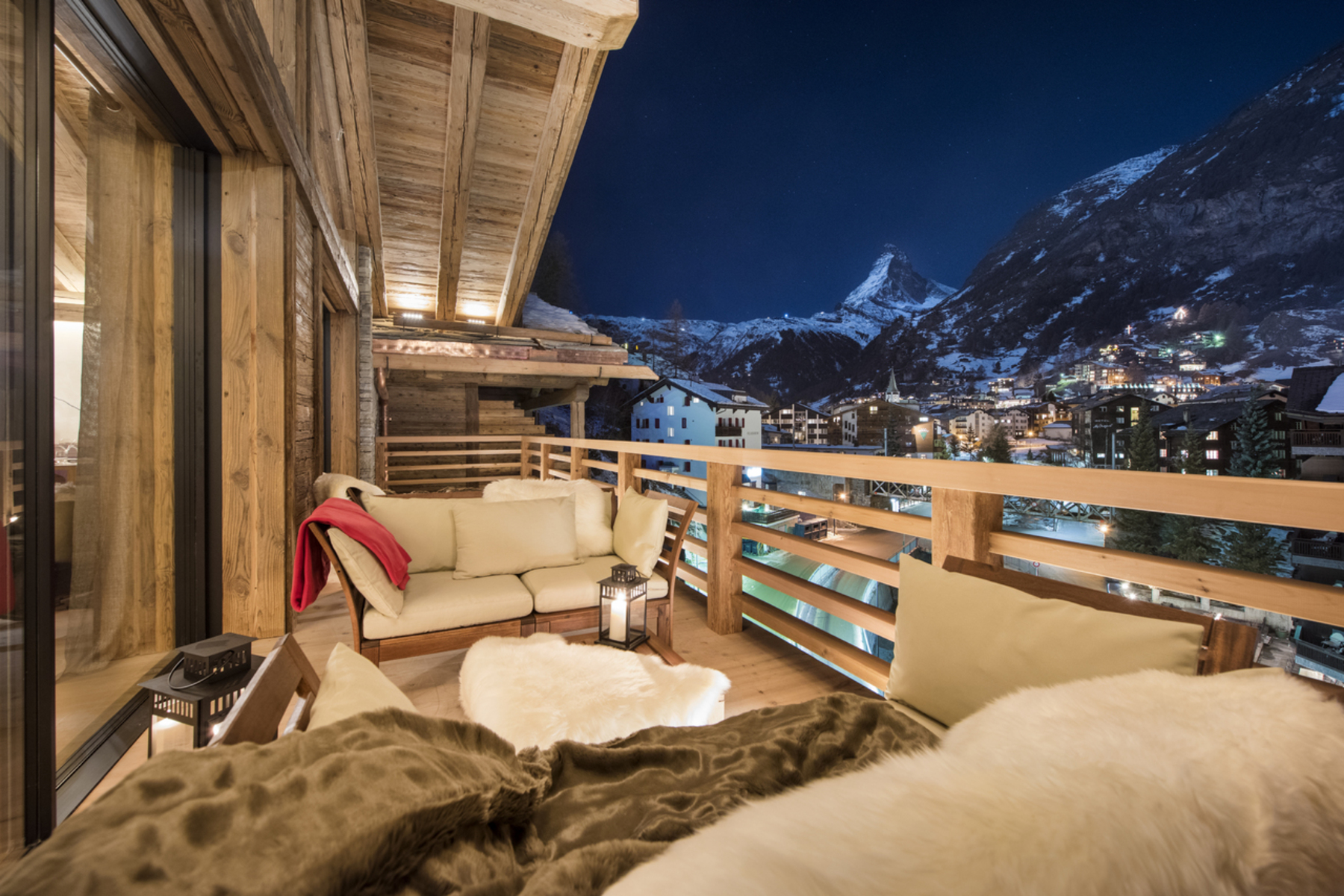 Single Family Home for Sale at Top notch chalet in central location with private wellness Zermatt, Valais, 3920 Switzerland