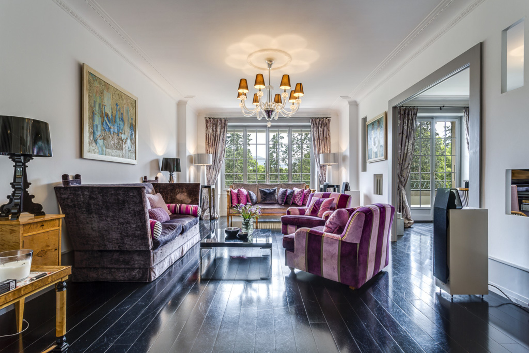 Apartamento por un Venta en Luxury apartment at the entrance of the famous Parc Alfred-Bertrand Champel Geneva, Geneve, 1206 Suiza