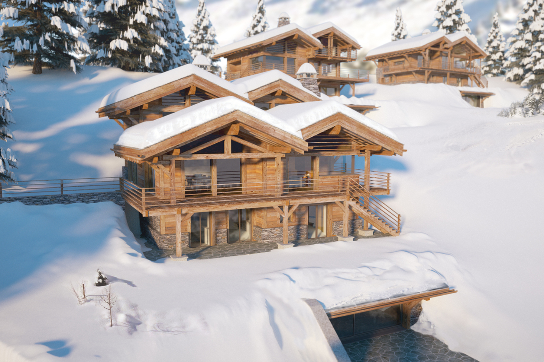 Villa per Vendita alle ore Sagarmatha Chalets, a unique off-plan property of over 2200m2 Verbier, Vallese, 1936 Svizzera
