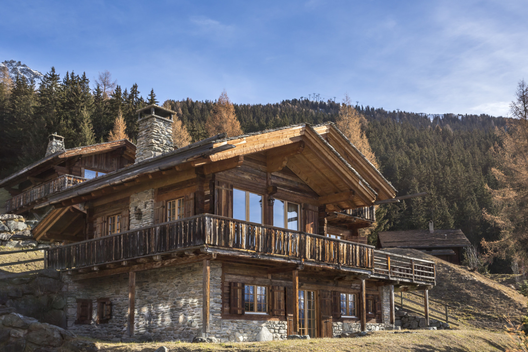 Single Family Home for Sale at Chalet BONNE VIE Verbier, 1936 Switzerland