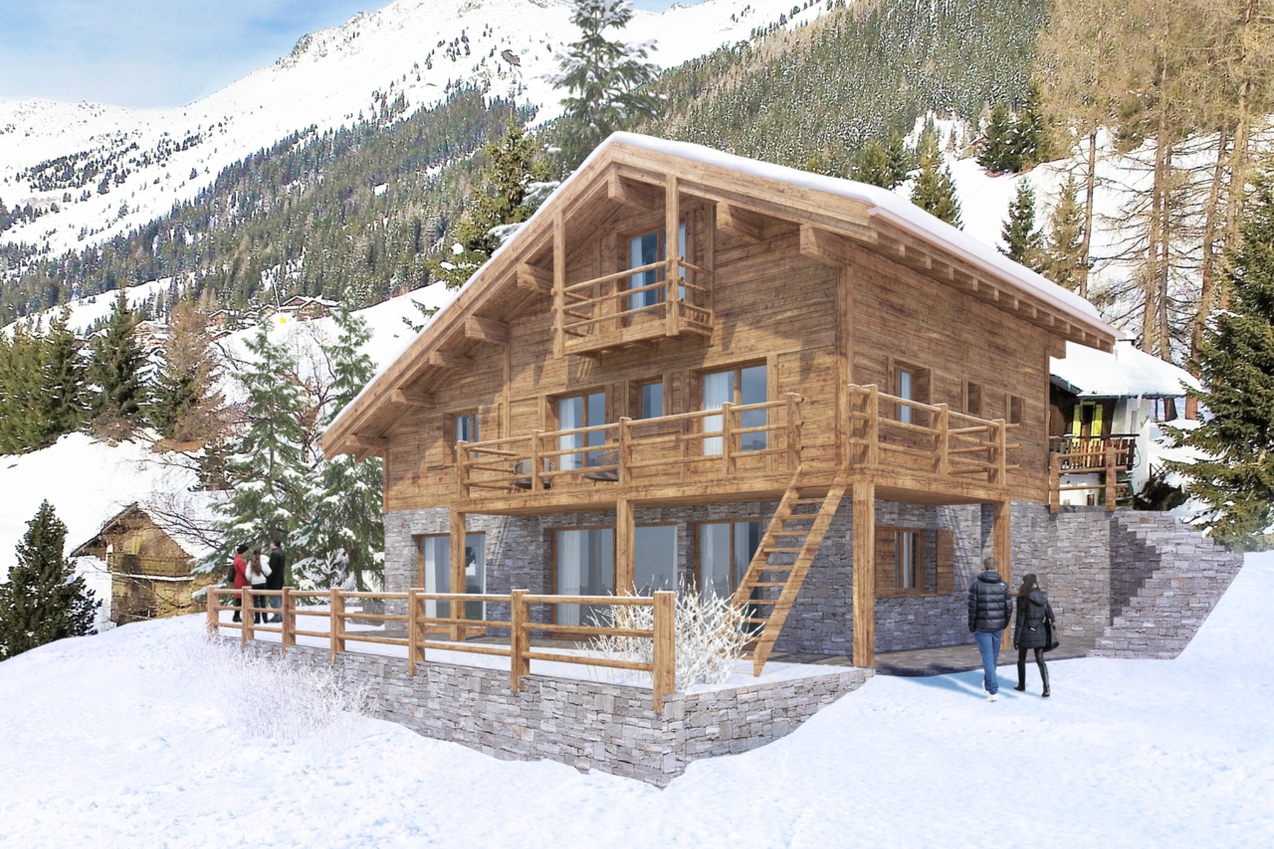Single Family Home for Sale at Chalet PHALENES, ski-in ski-out Verbier, 1936 Switzerland