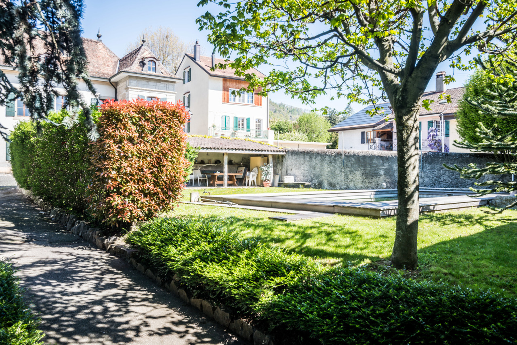 Single Family Home for Sale at 18th century village estate in need of renovation Bursins Other Switzerland, Other Areas In Switzerland, 1183 Switzerland