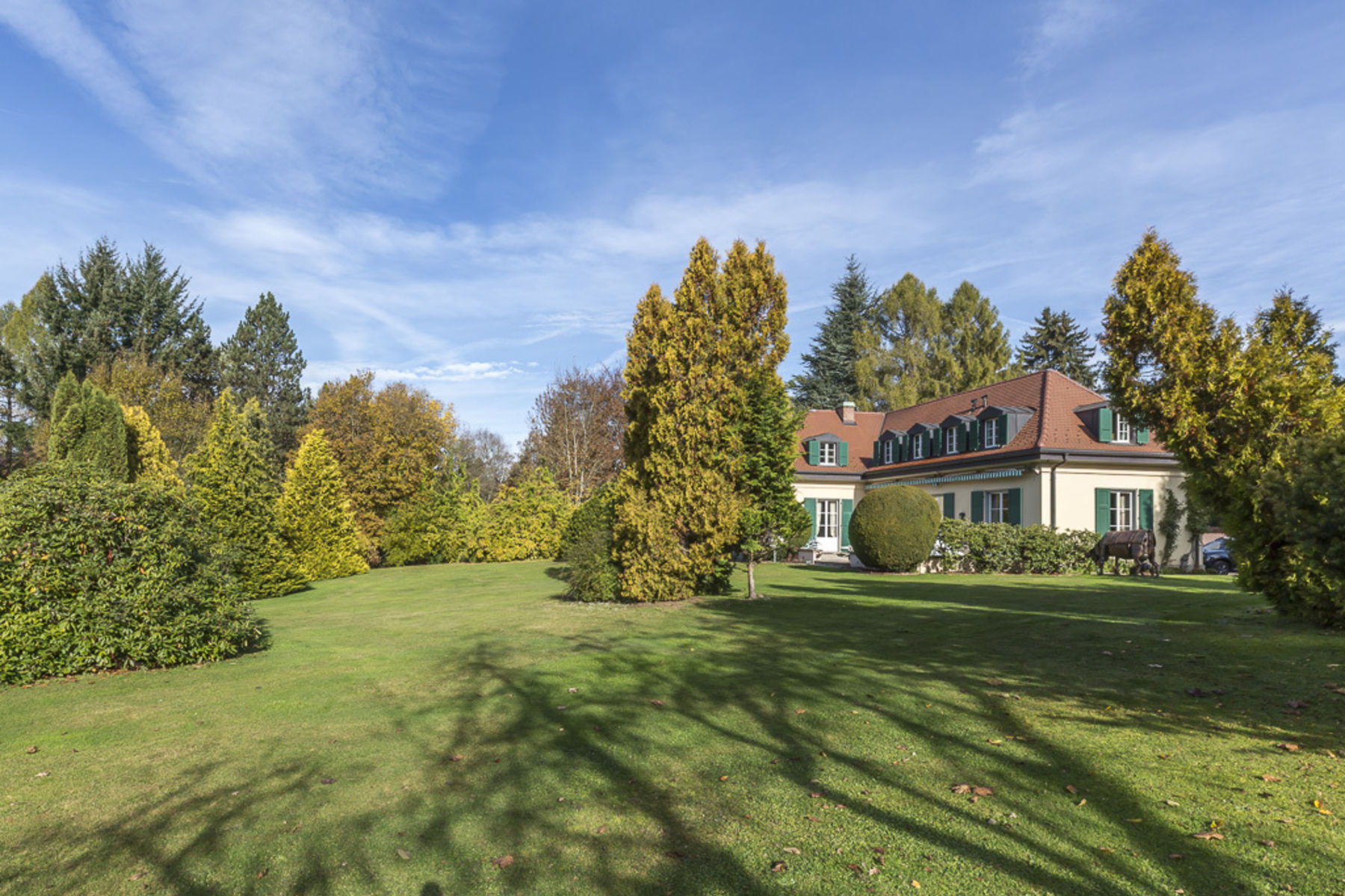 sales property at Classical property in a leafy setting on the edge of town