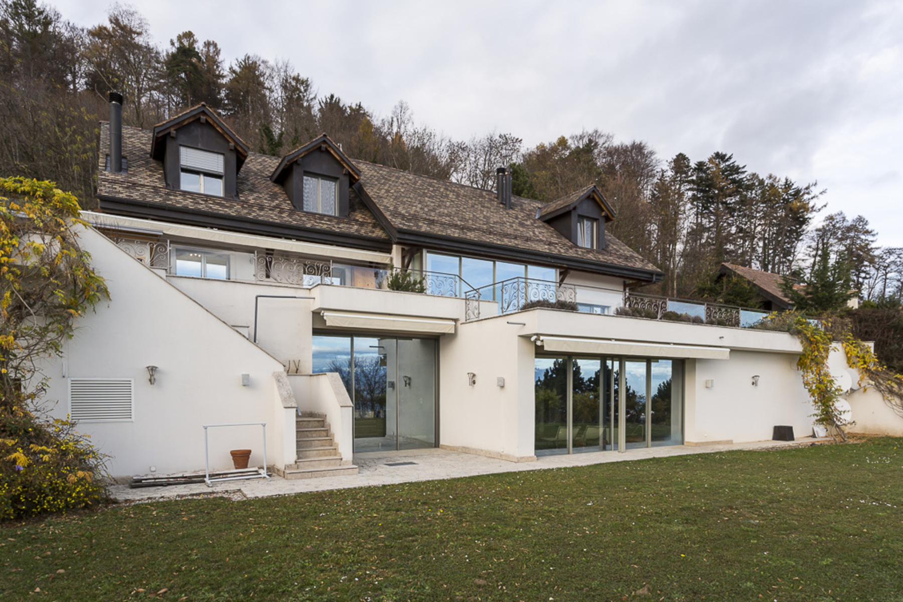 sales property at Luxury property with unobstructed views of the lake and Alps