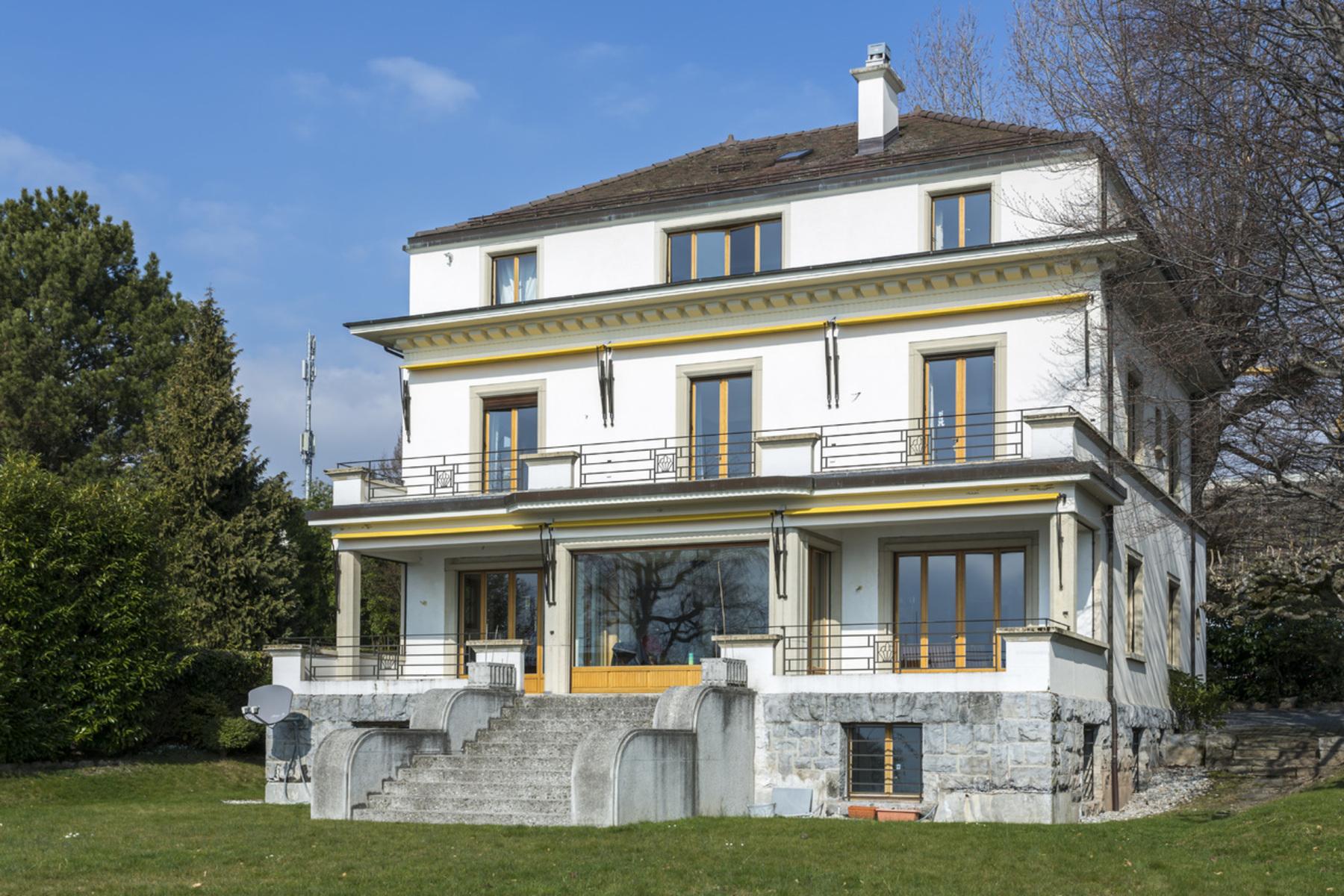 Single Family Home for Sale at 11 room waterfront mansion Private dock La Tour-de-Peilz La Tour-De-Peilz, Vaud, 1814 Switzerland
