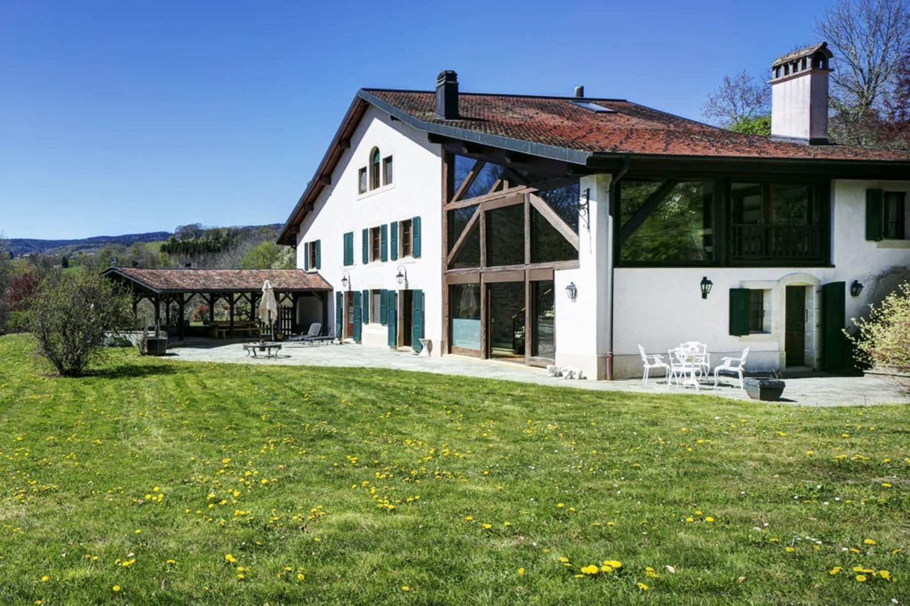 sales property at In a rural setting Magnificent renovated farmhouse