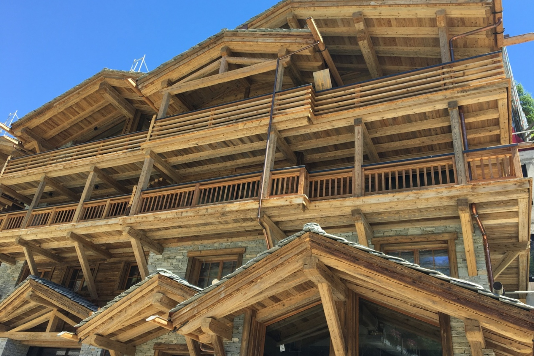 Single Family Home for Sale at Large chalet to be completed to the buyers specification Zermatt, Valais, 3920 Switzerland