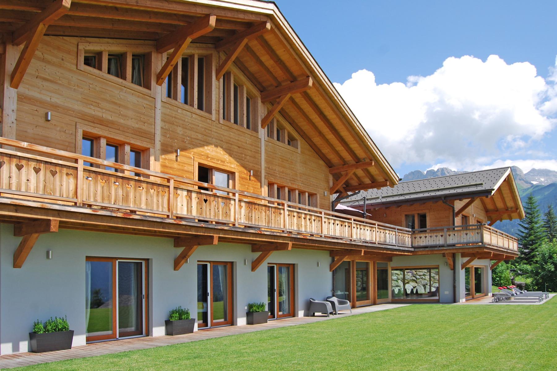 Villa per Vendita alle ore Chalet Nasha Quartier des Frasses Gryon, Vaud, 1882 Svizzera