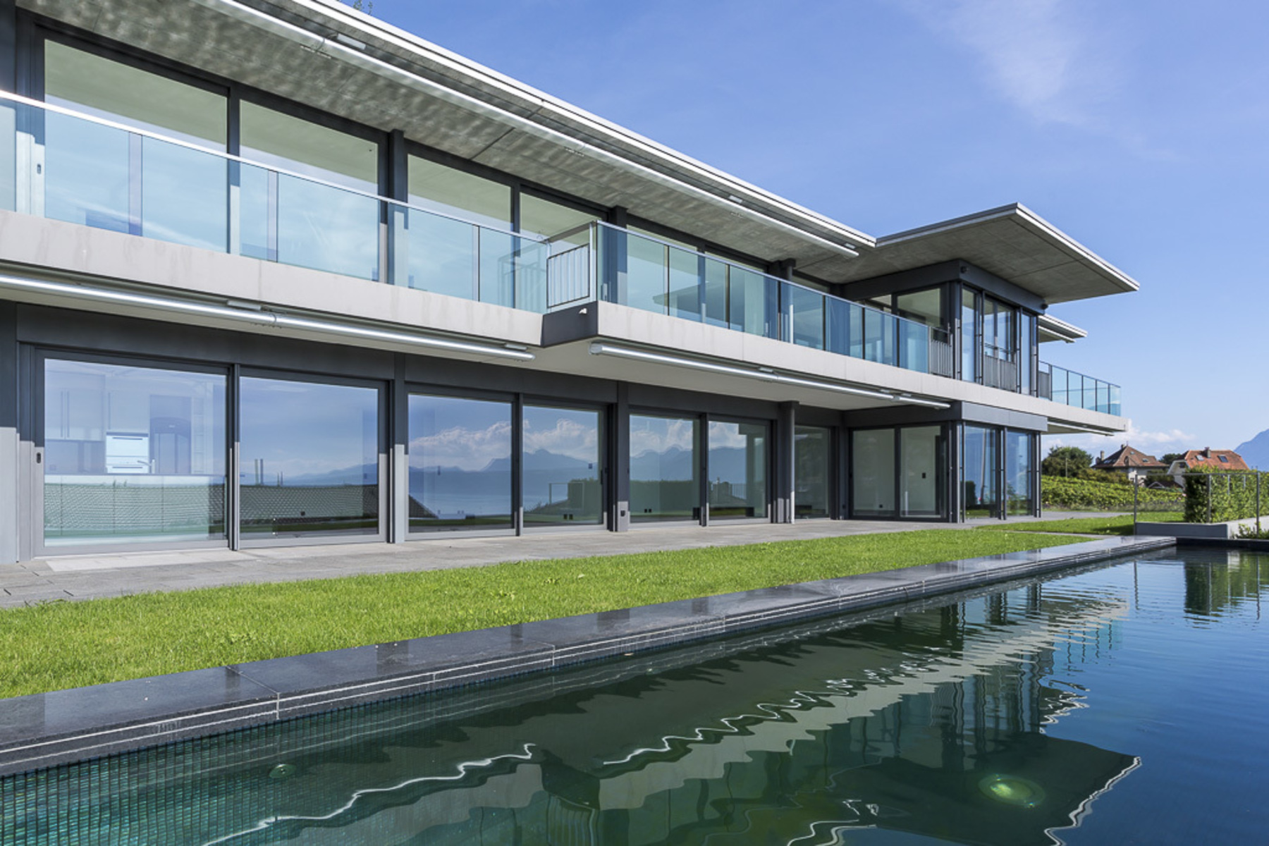 sales property at 665 m² contemporary home with private pool