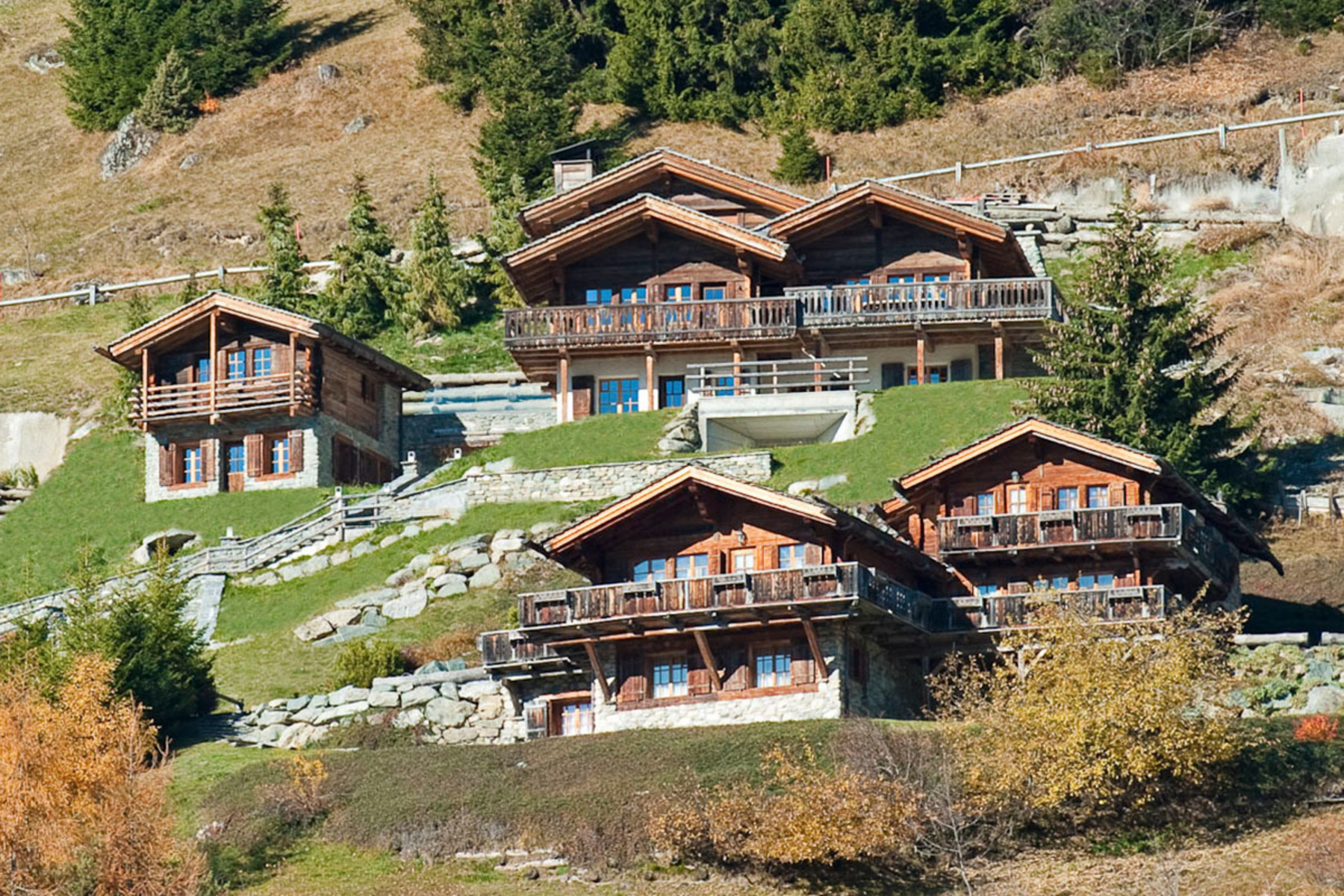 sales property at Stunning chalet overlooking Verbier