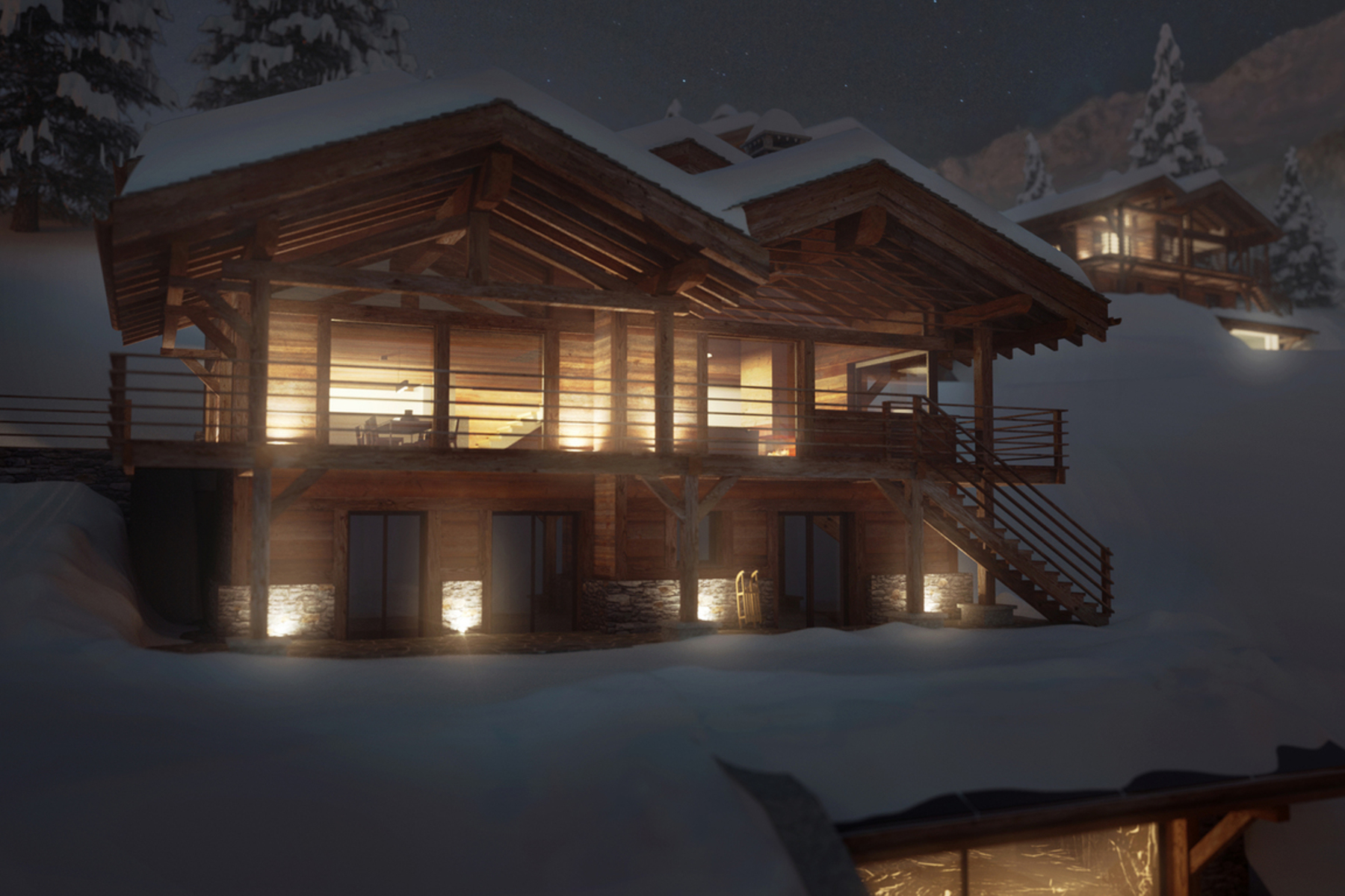 Property For Sale at Luxury chalet Lhotse with spa & pool - off plan - Sonalon