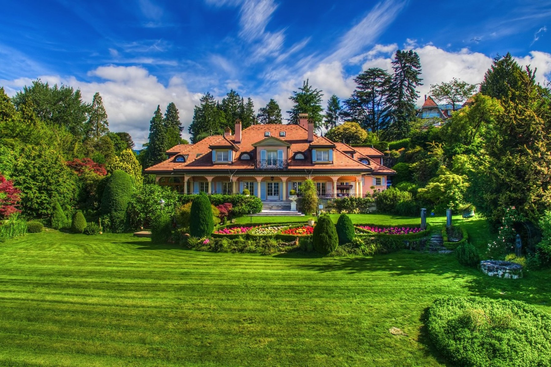 Single Family Home for Sale at Stunning mansion Prestigious, highly sought-after neighbourhood Clarens Montreux, Vaud, 1820 Switzerland