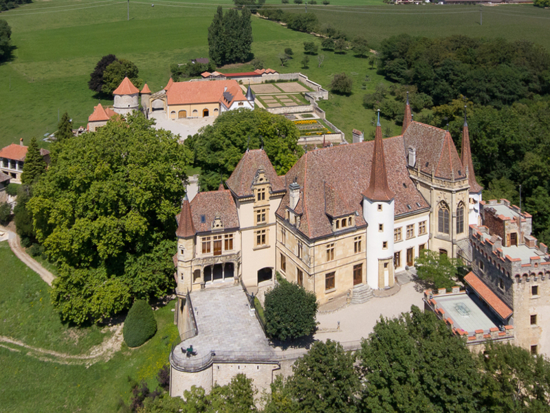 Property For Sale at Gorgier Castle