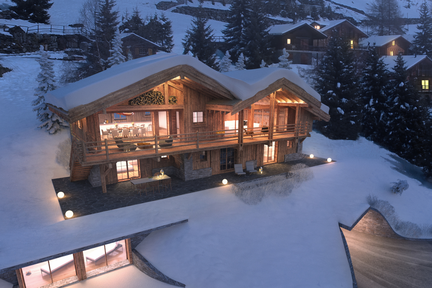 Single Family Home for Sale at chalet KANGRI Verbier, Valais, 1936 Switzerland