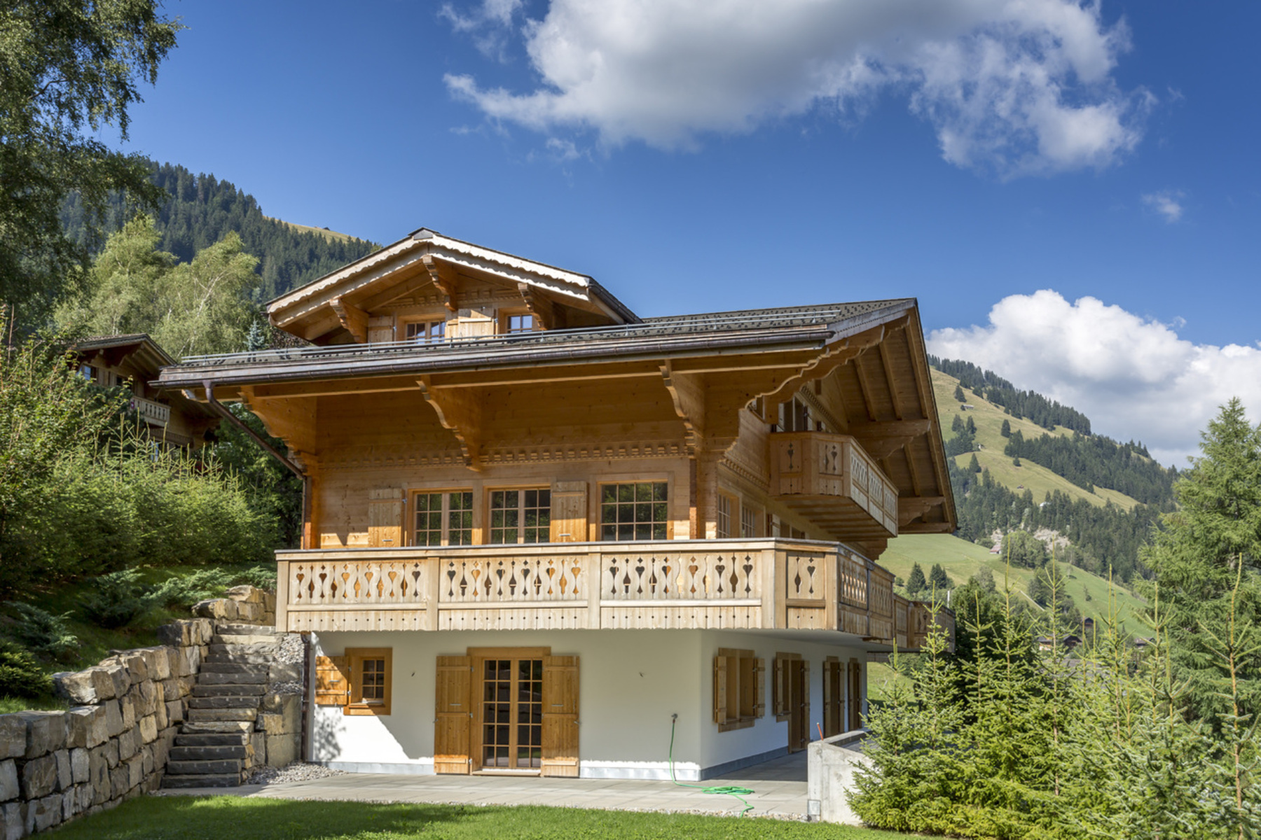 sales property at Superb chalet in Rougemont