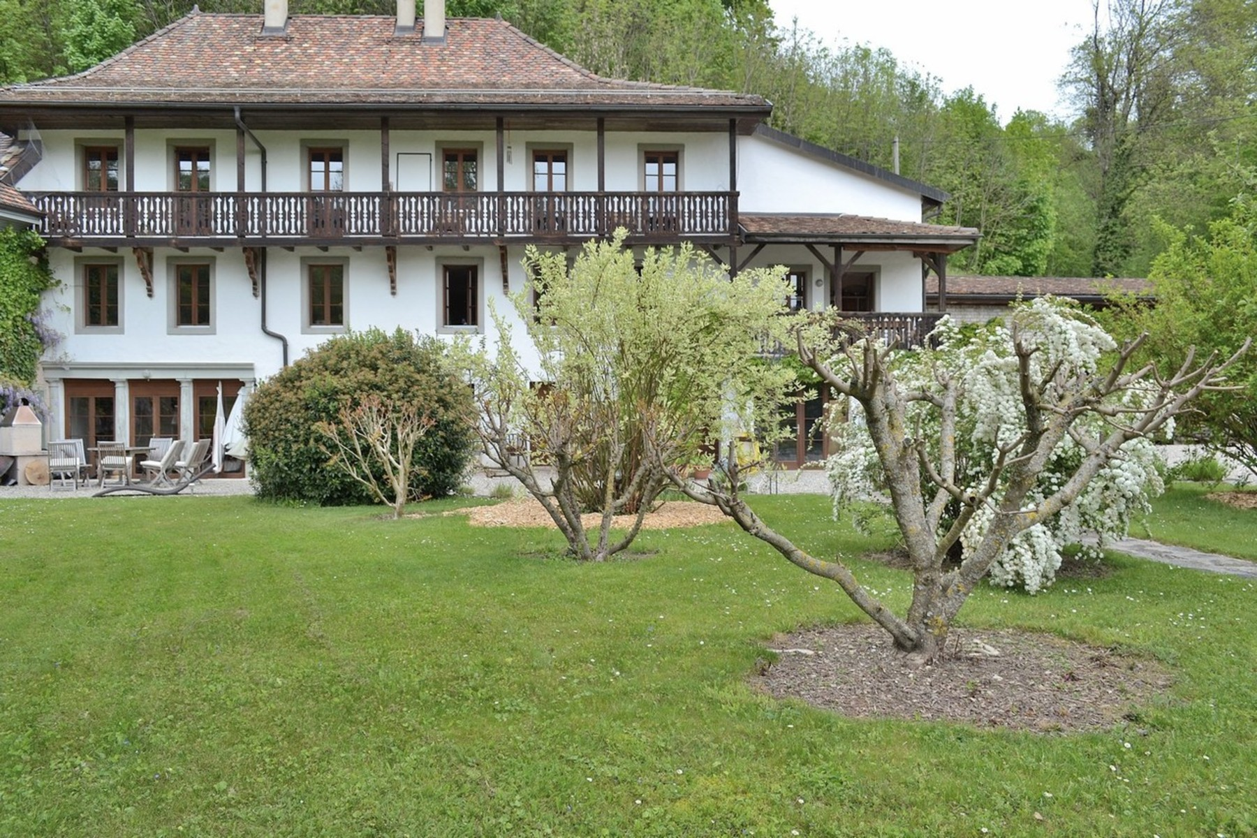 sales property at Large residence in a rural setting