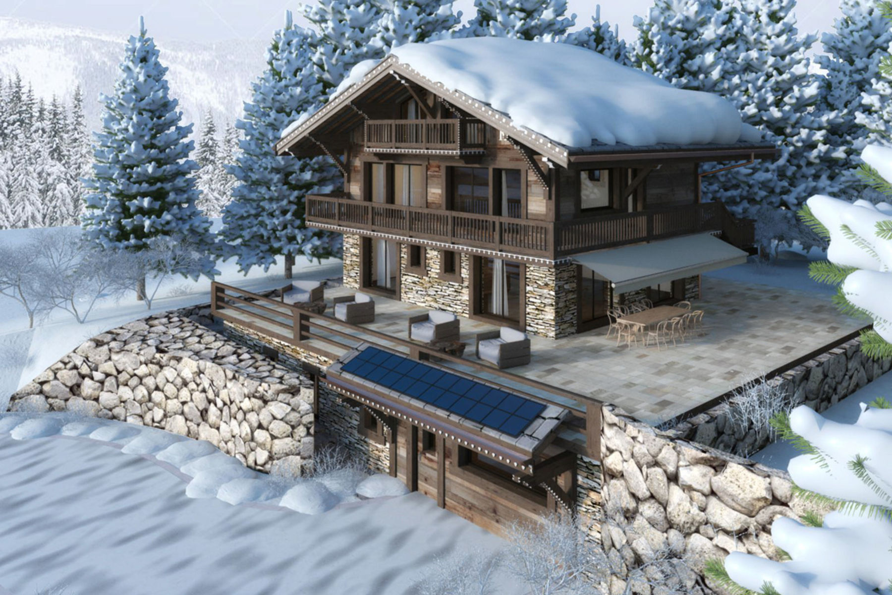 Частный односемейный дом для того Продажа на Chalet KibiByte Route de la Résidence 45 Villars-Sur-Ollon, Во, 1884 Швейцария