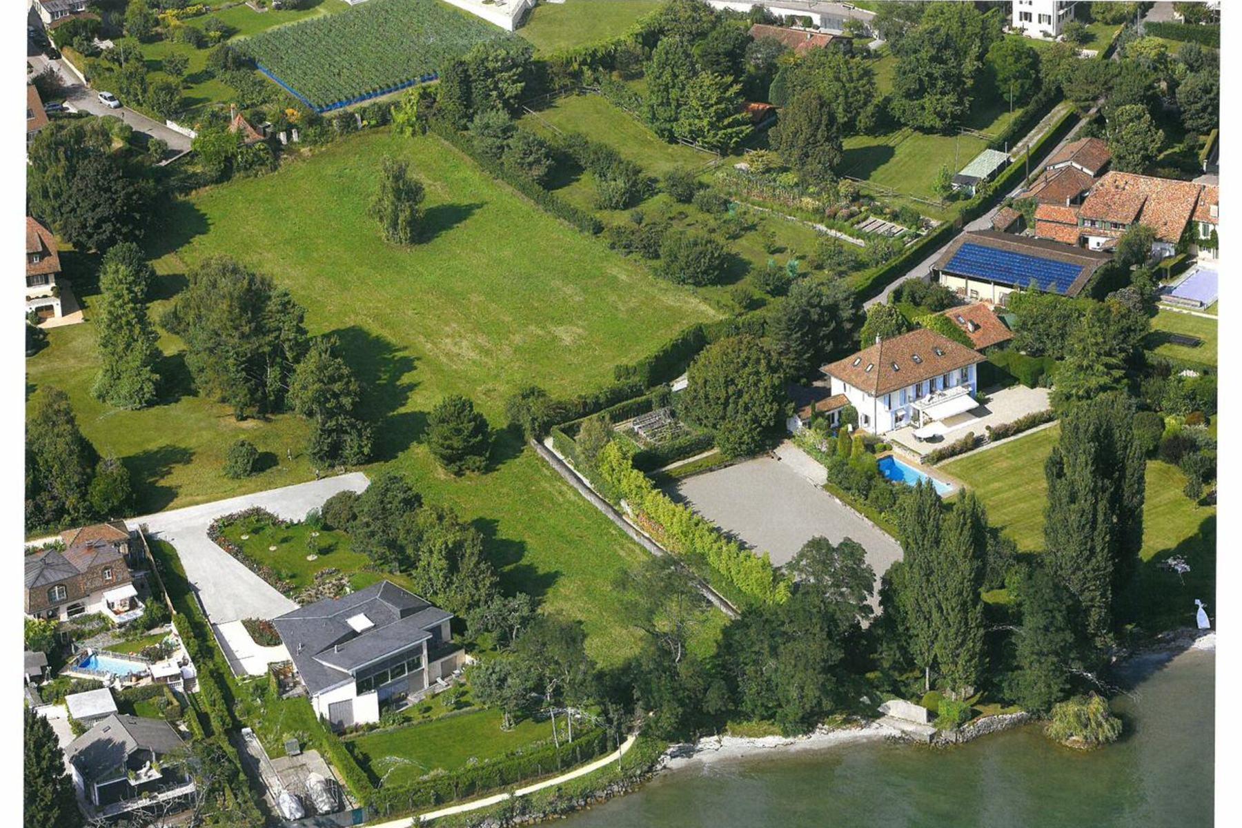 土地,用地 为 销售 在 Building land, giving direct access to the lake St-Sulpice Other Vaud, 沃州 1025 瑞士
