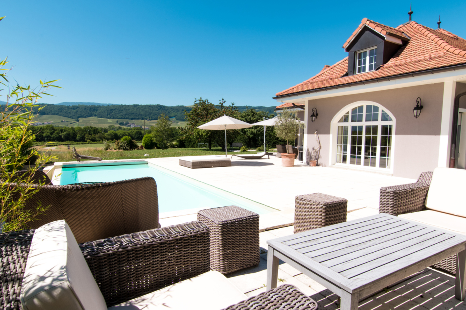 Single Family Home for Sale at Magnificent detached house overlooking the Jura Dully, Dully, Vaud, 1195 Switzerland