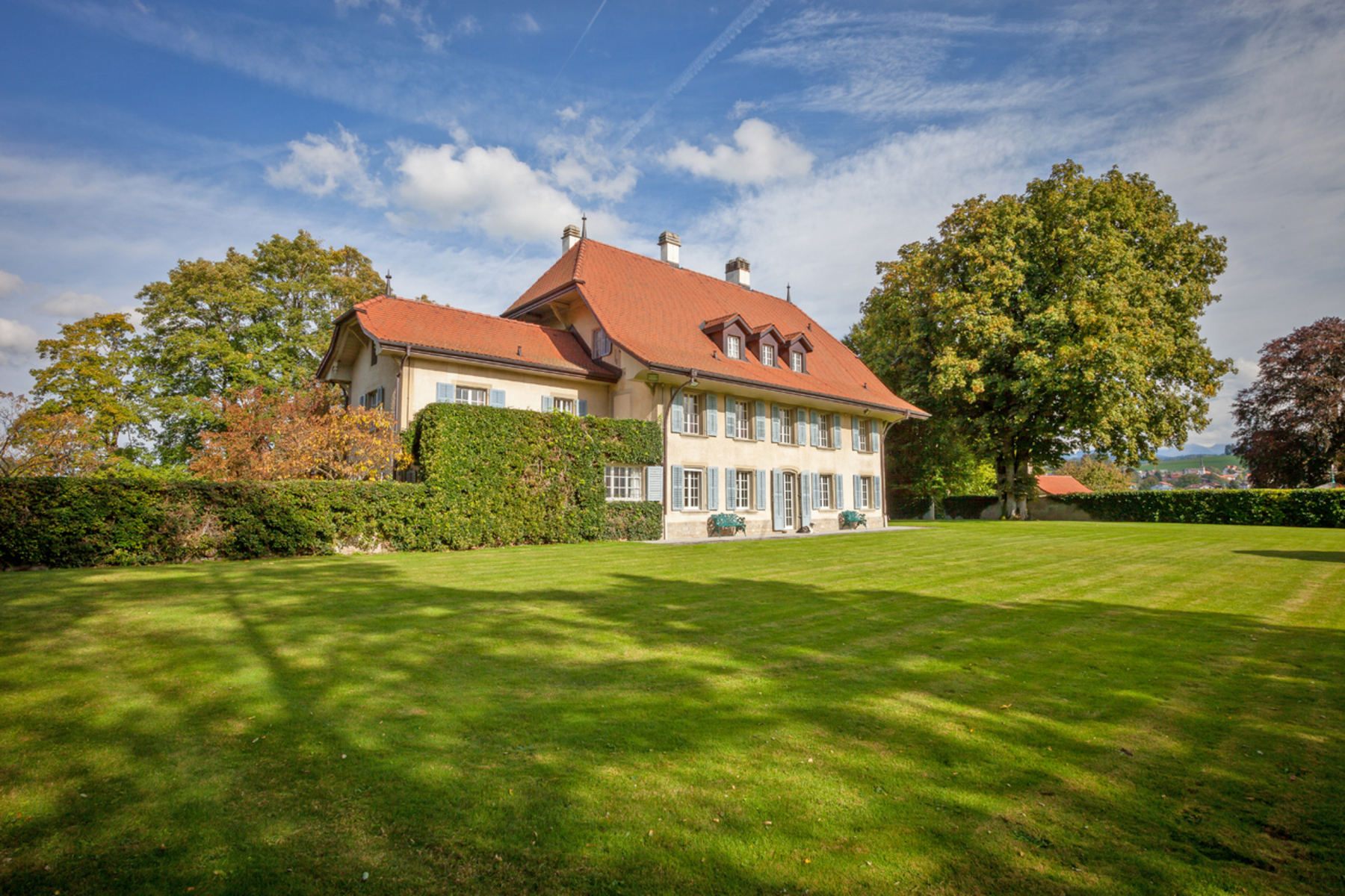 Single Family Home for Sale at Château de Tentlingen / Tinterin Rare and exceptional property ! Tentlingen, Fribourg, 1734 Switzerland