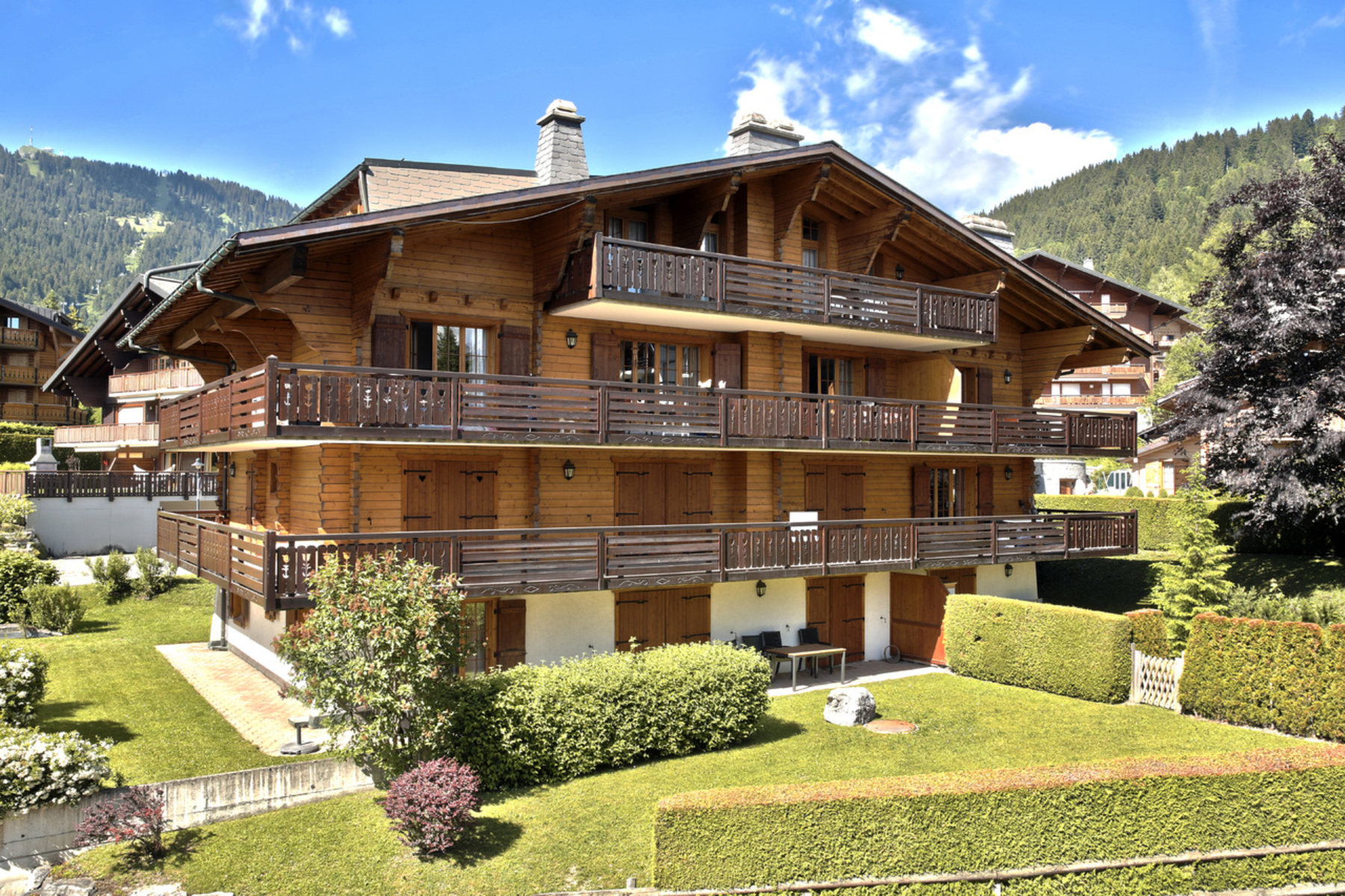 Apartamento por un Venta en Impérial 3 Chemin des Troubadours 1 Villars-Sur-Ollon, Vaud, 1884 Suiza