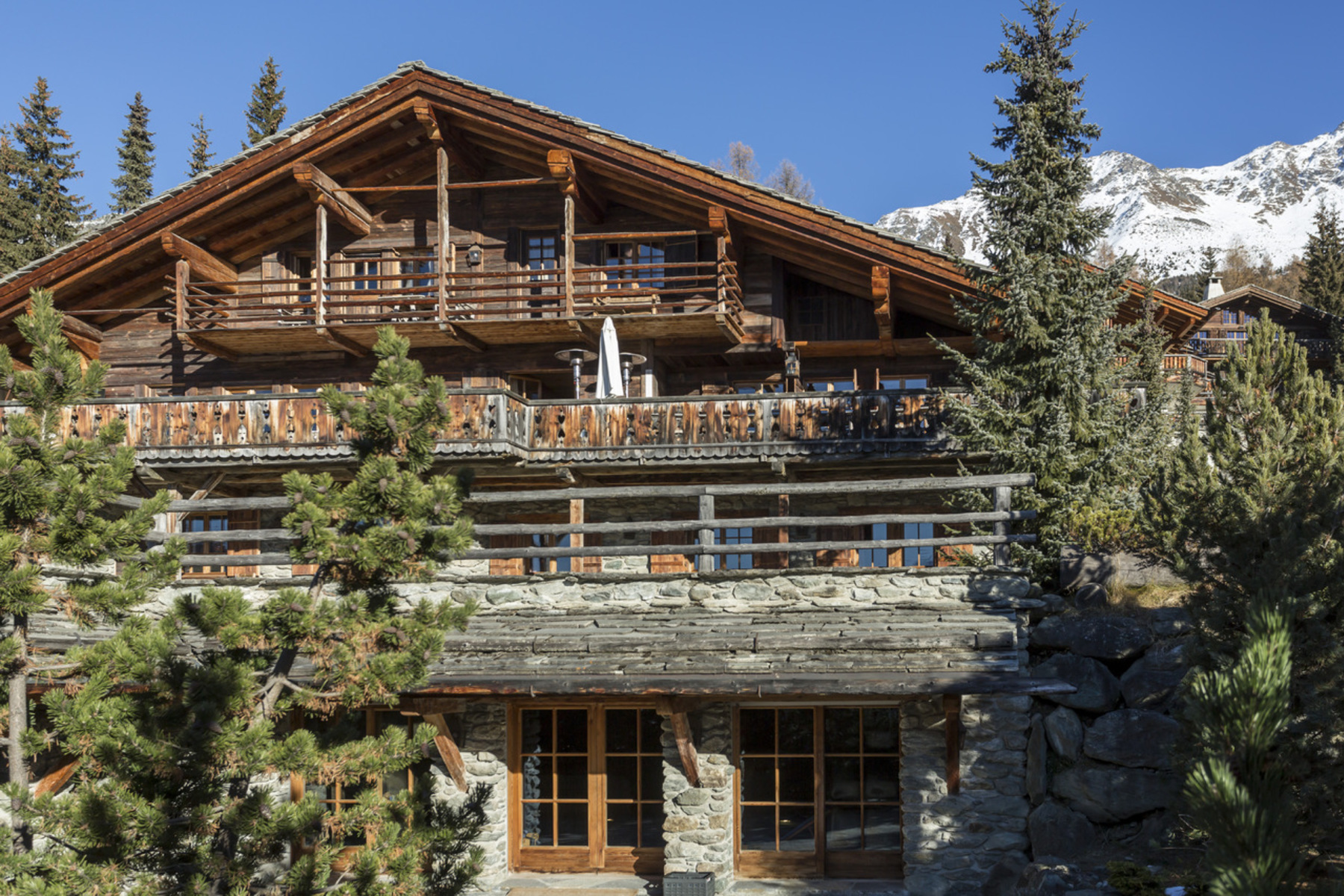 Single Family Home for Sale at Chalet BEL HORIZON Verbier Verbier, Valais 1936 Switzerland