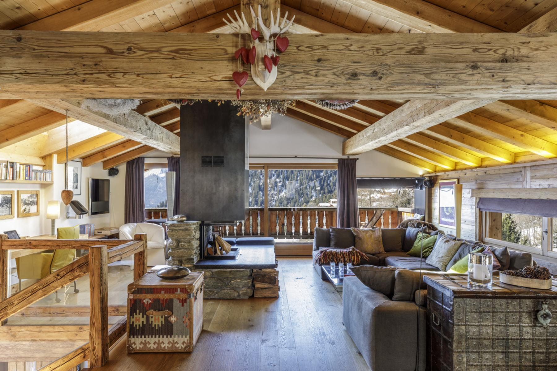 獨棟家庭住宅 為 出售 在 Chalet VERMONT Verbier, 瓦萊州, 1936 瑞士