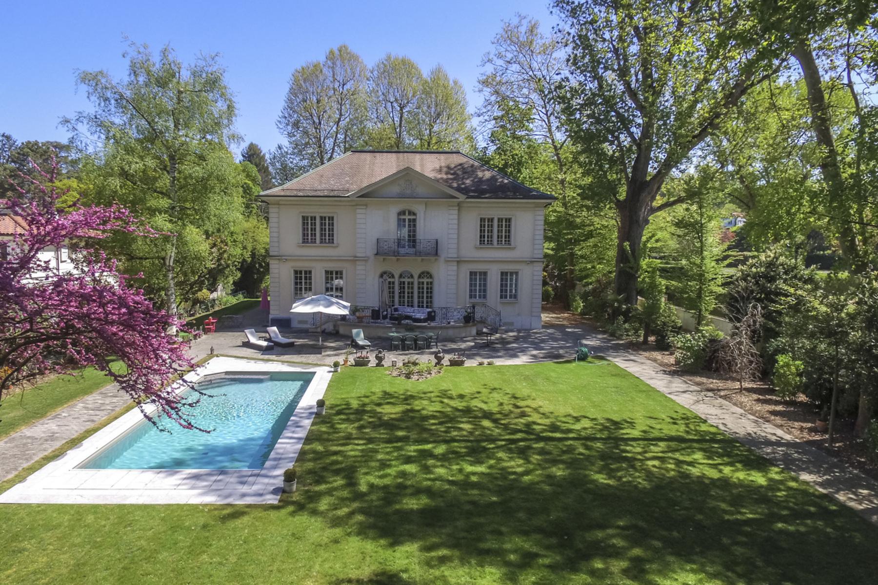 独户住宅 为 销售 在 Stunning waterfront mansion Vésenaz Vesenaz, 日内瓦 1222 瑞士