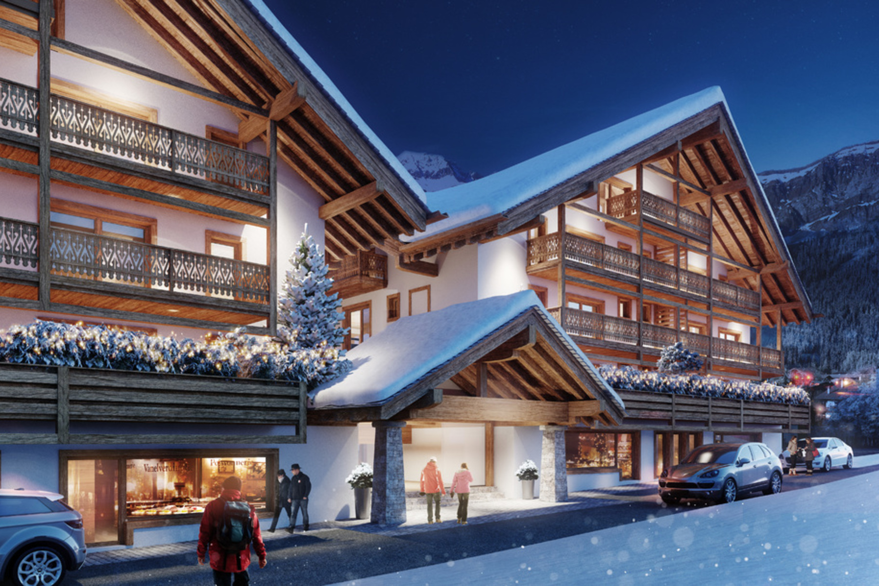 公寓 为 销售 在 Résidence Le Montagnier - Apartment with 121 m² patio Champéry, Champery, 瓦莱州, 1874 瑞士