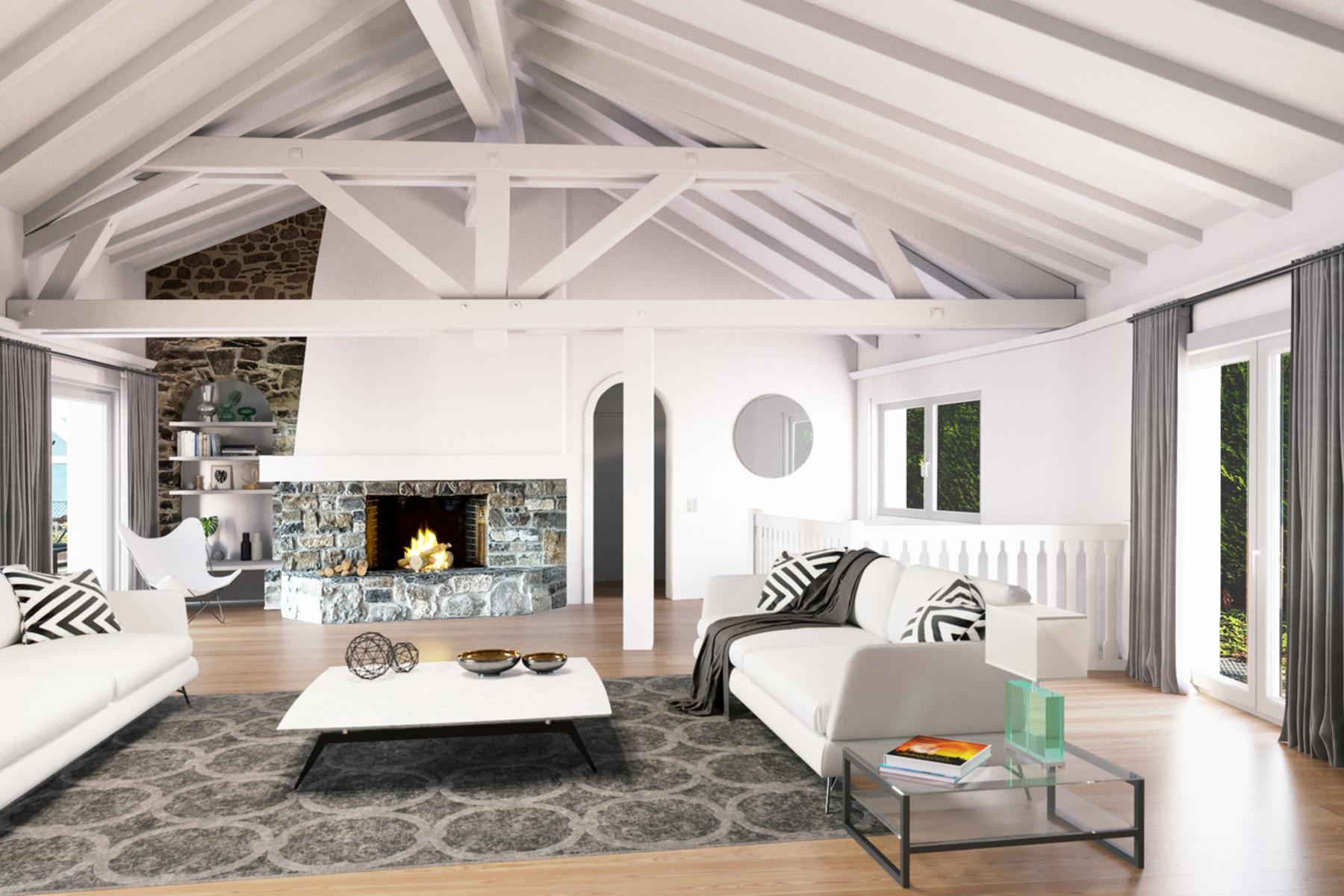 独户住宅 为 销售 在 Beautiful 5.5 room villa with exceptional view over the lake St-Légier-La Chiésaz, St Legier La Chiesaz, 沃州, 1806 瑞士