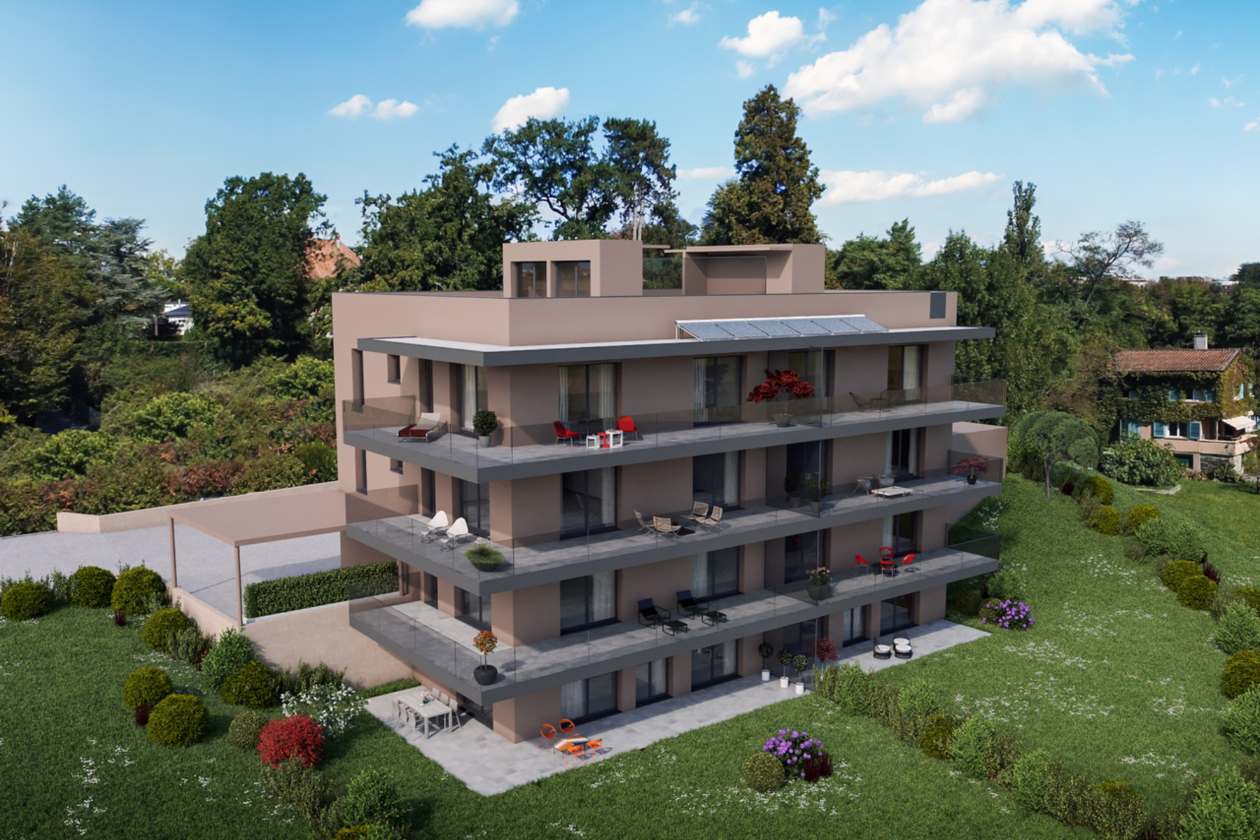 Квартира для того Продажа на 1st floor - Option II 6 room South West apartment Champel, Geneva, Жене́ва, 1206 Швейцария