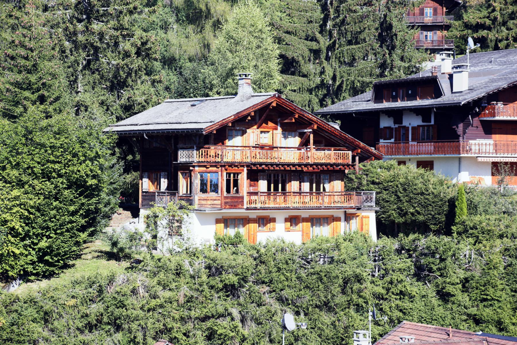 واحد منزل الأسرة للـ Sale في Le Petit-Prince Chemin en Cavuaz Villars-Sur-Ollon, Vaud, 1884 Switzerland