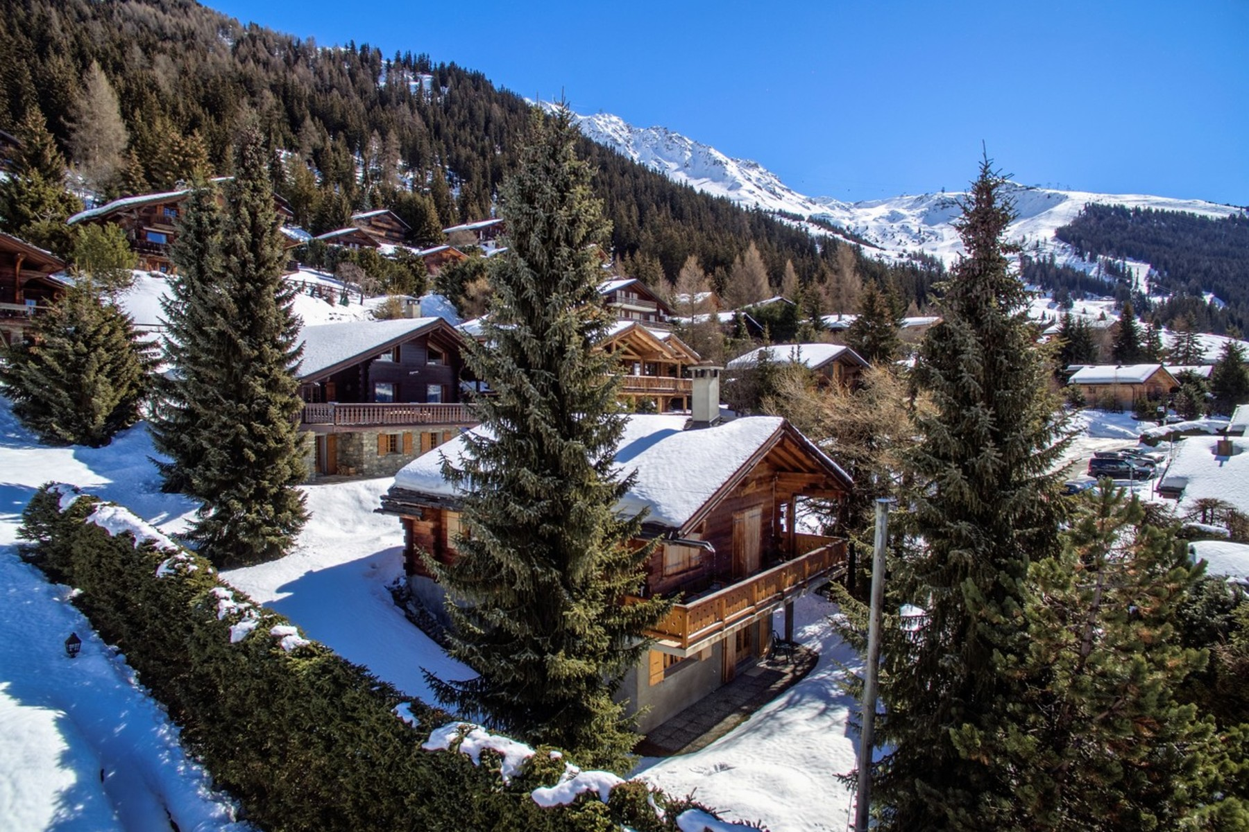 Single Family Home for Sale at Chalet BEL MARDUK Verbier, Valais, 1936 Switzerland