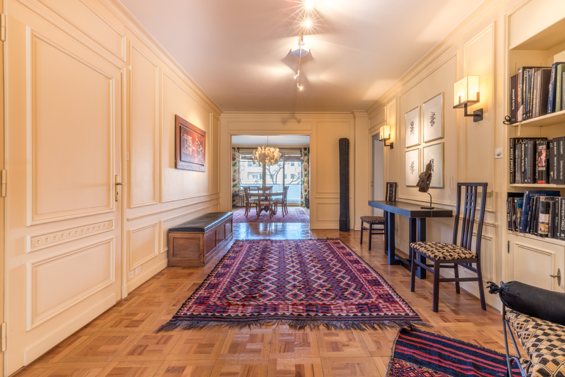 Apartment for Active at Beautiful four-bedroom apartment in the exclusive Malagnou neighbourhood Genève-Malagnou Geneva, Geneva 1208 Switzerland