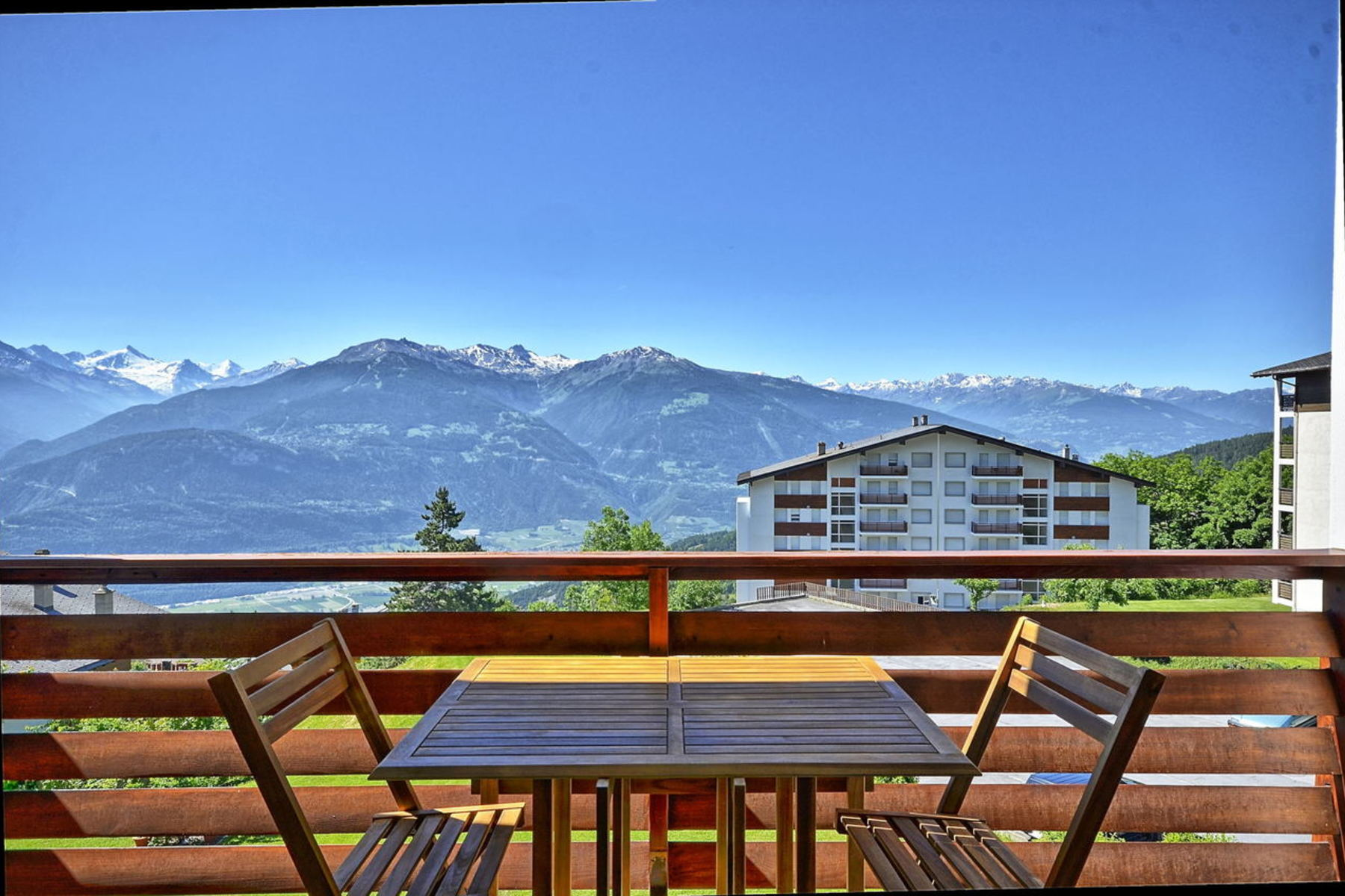 Apartment for Sale at CRANS-MONTANA, Europa 1, 2.5 rooms in peace with view, swimming pool Route d'Europa 1 Crans, Valais 3963 Switzerland