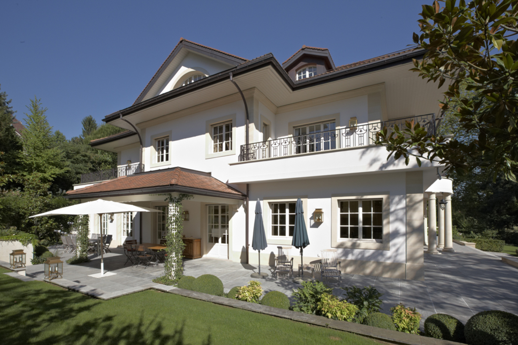 Single Family Homes 为 销售 在 Superb mansion close to Denantou park Lausanne 洛桑, 沃州 1006 瑞士