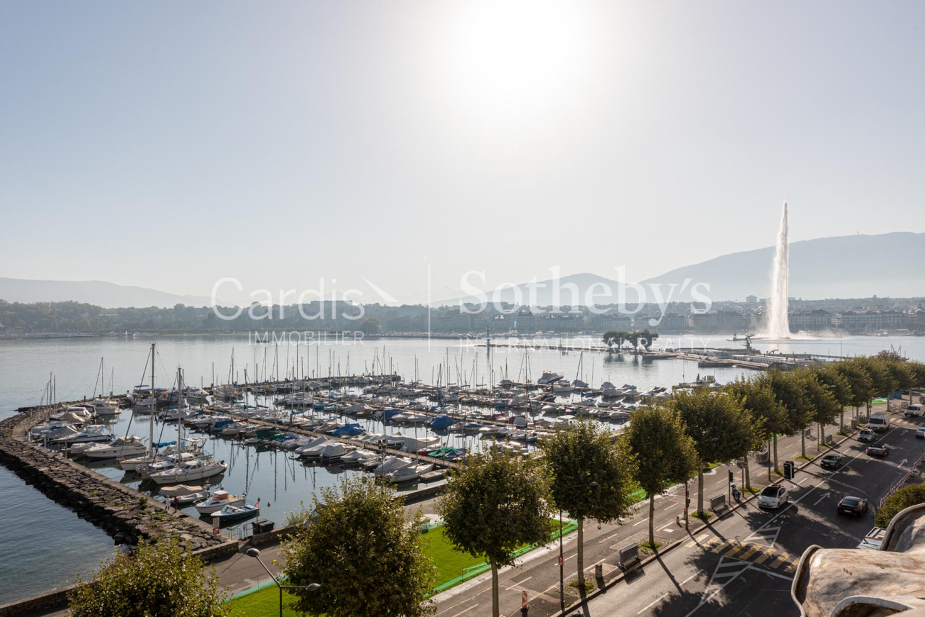 Apartments por un Venta en Breathtaking view & prestigious address Genève Ginebra, Ginebra 1201 Suiza