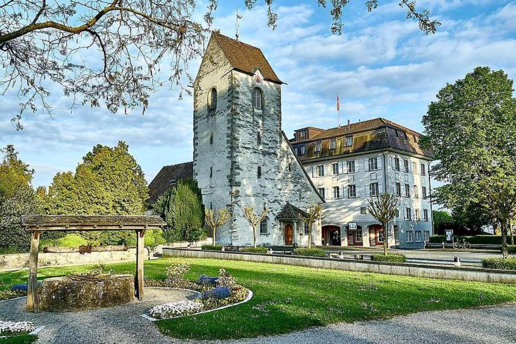 Single Family Homes por un Venta en Castle Hotel Romanshorn Schlossbergstrasse 26 Other Thurgau, Thurgau 8590 Suiza