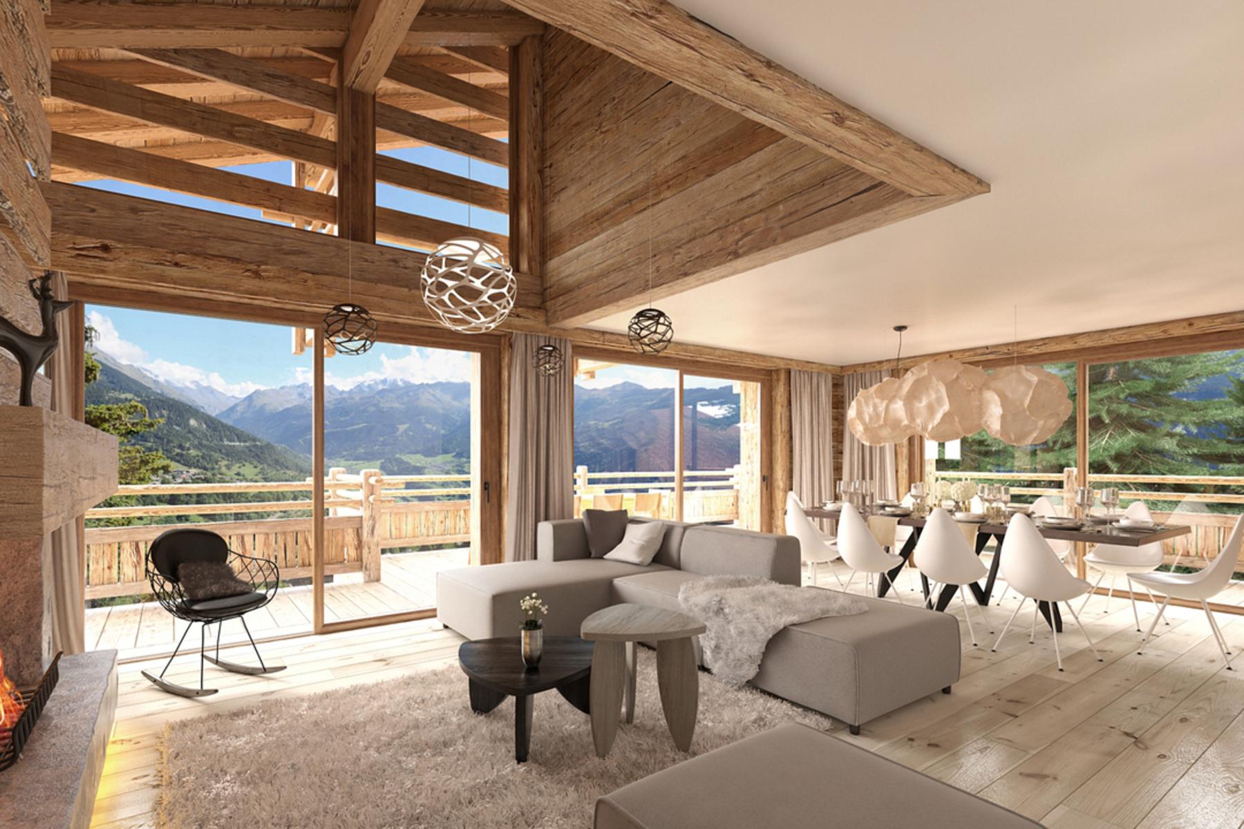 獨棟家庭住宅 為 出售 在 MAYENS DE CHEVILLARD - Chalet A Switzerland Verbier, 瓦萊州, 1936 瑞士
