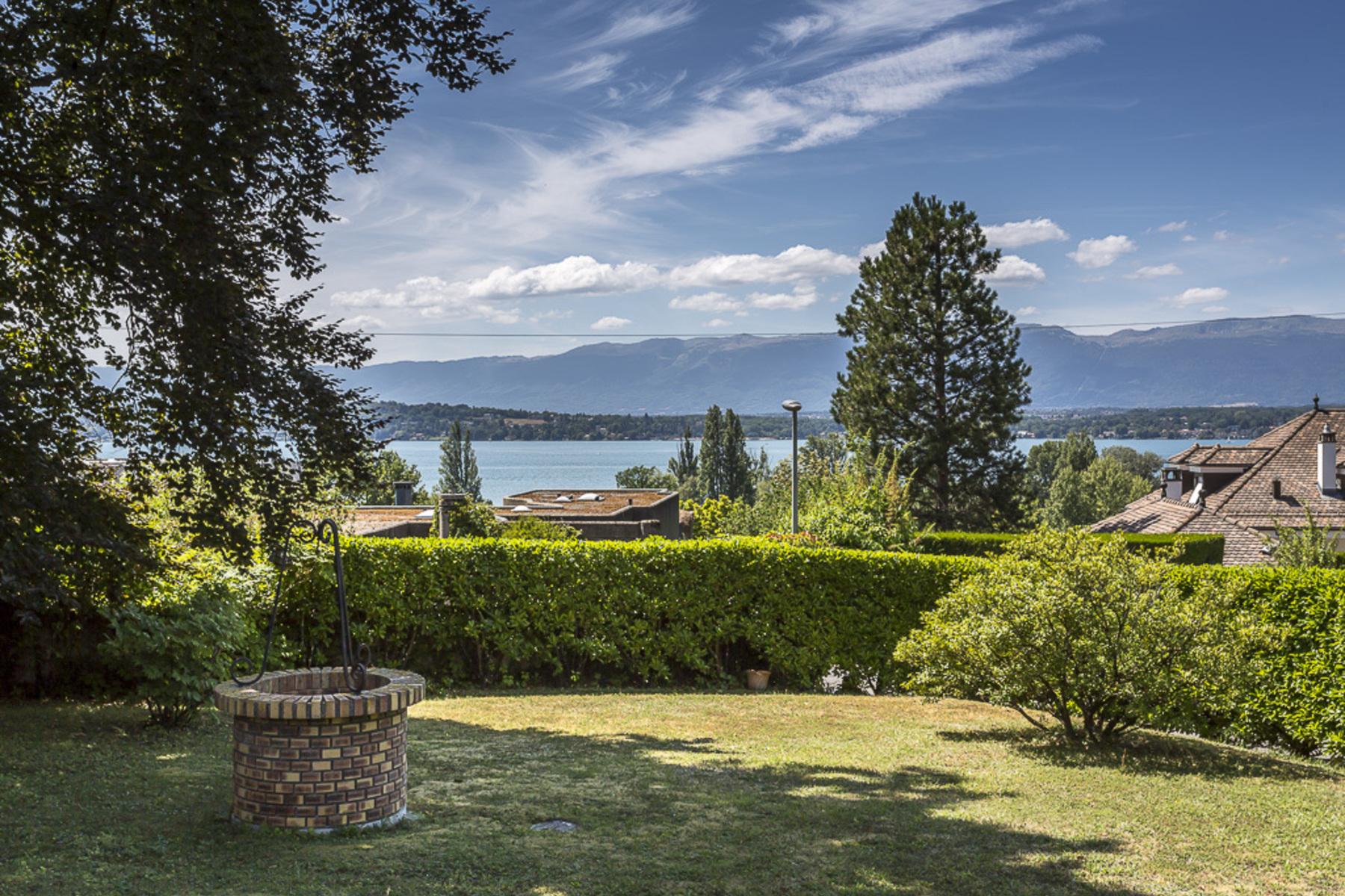 Single Family Homes pour l Vente à Contemporary property with lake view Collonge-Bellerive Collonge-Bellerive, Genève 1245 Suisse