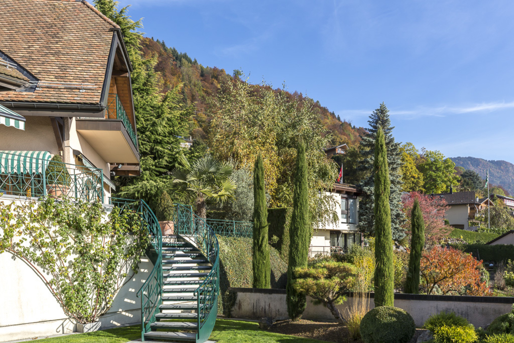 Casa Unifamiliar por un Venta en Superb property with spectacular view over the lake Blonay Blonay, Vaud, 1807 Suiza