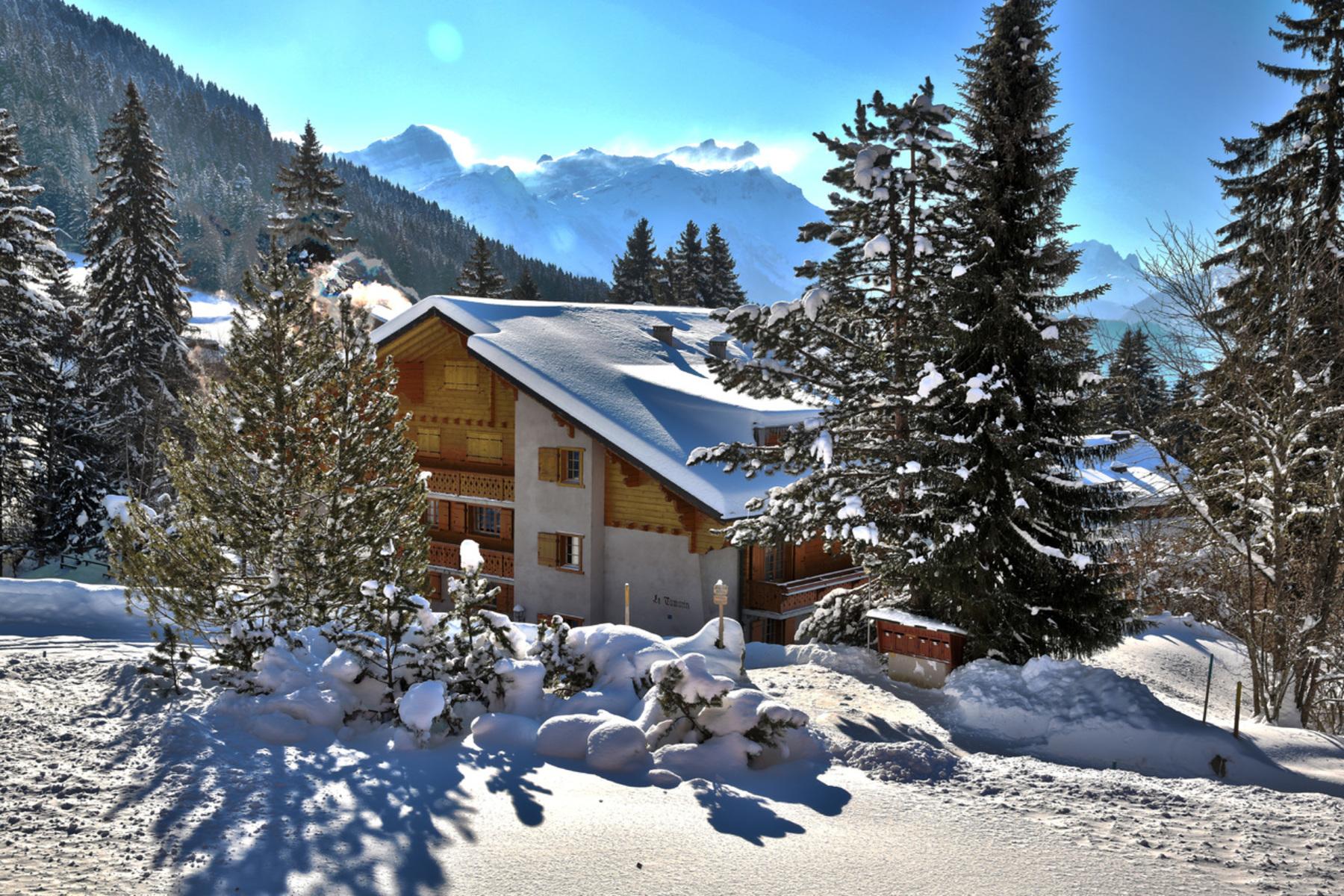 Apartment for Sale at Tamarin 6 Route de la Résidence 74 Villars-Sur-Ollon, Vaud, 1884 Switzerland