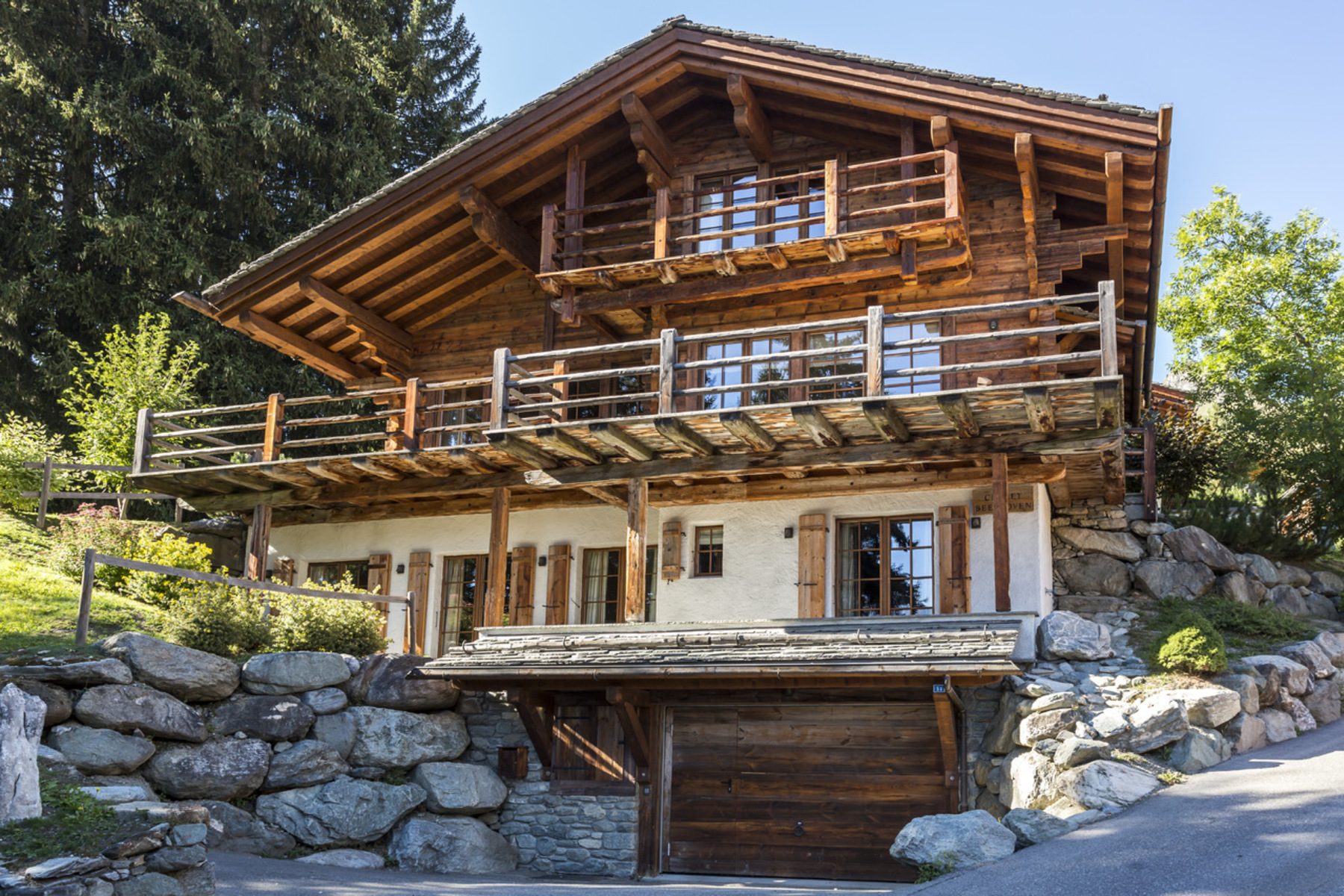 Single Family Home for Sale at Chalet BEETHOVEN Verbier, Valais, 1936 Switzerland