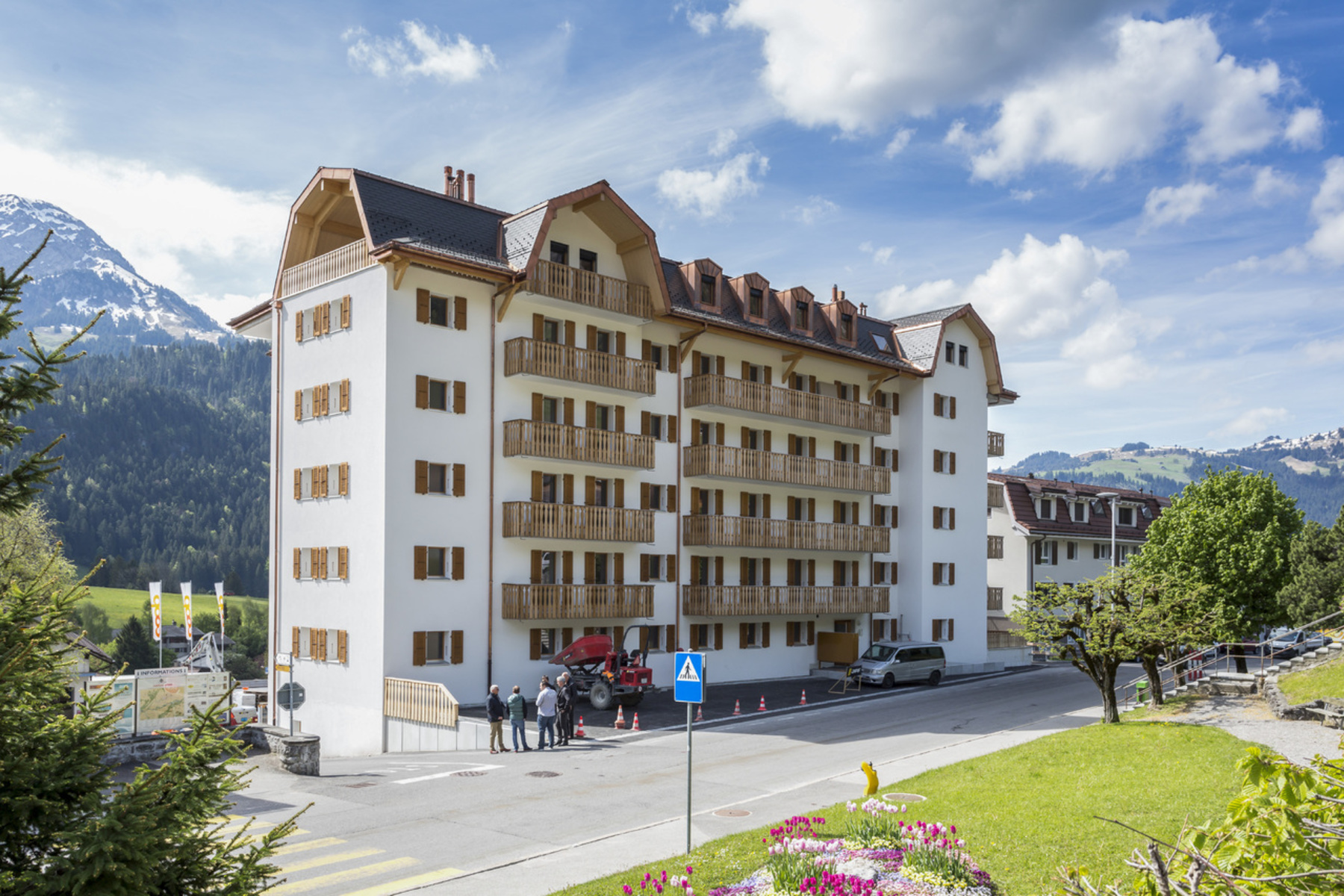 Additional photo for property listing at For sale, Condominium apartment, 1660 Château-d'Oex, Réf 7476  Chateau Doex, Vaud 1660 Switzerland