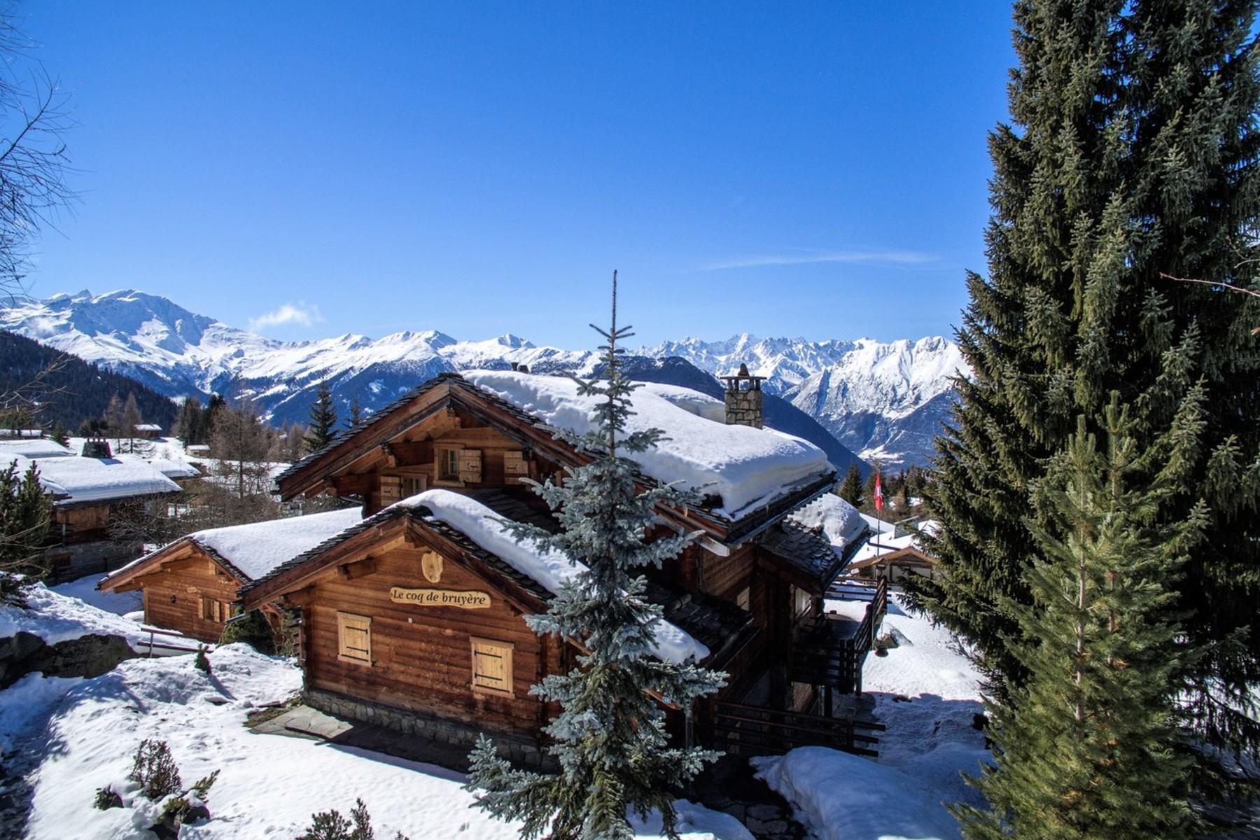 獨棟家庭住宅 為 出售 在 chalet COQ DE BRUYERE Verbier, 瓦萊州, 1936 瑞士