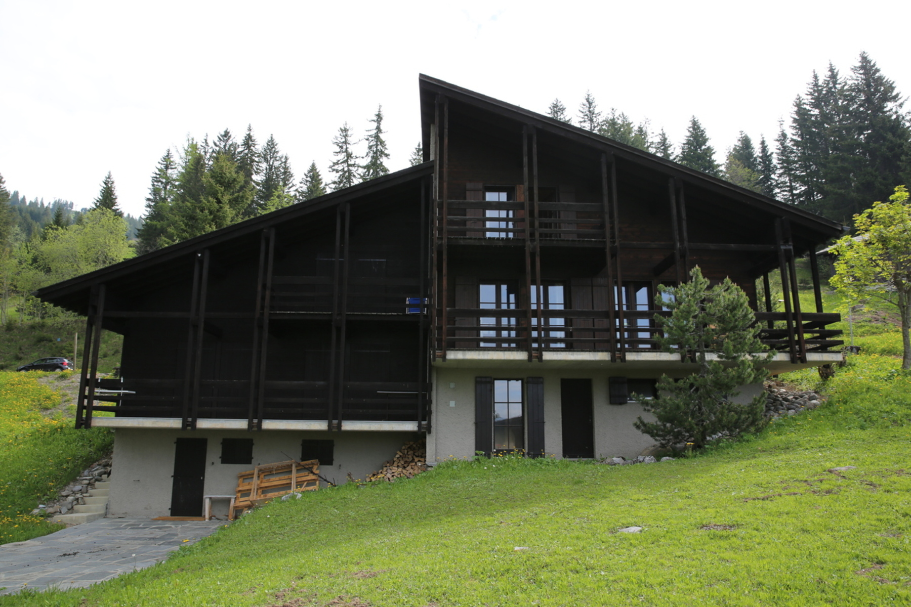 Single Family Home for Sale at Chalet C22 Route de l'Alpe des Chaux Gryon, Vaud, 1882 Switzerland