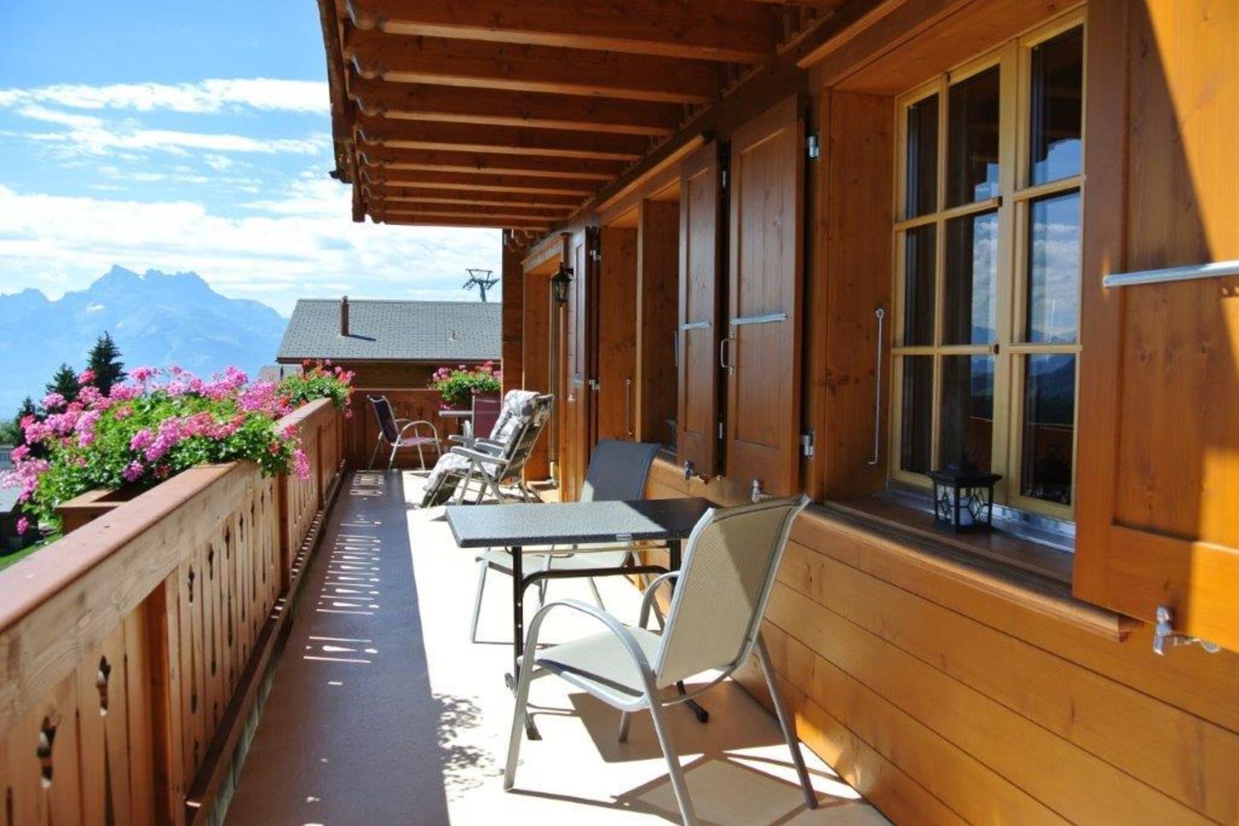 Maison unifamiliale pour l Vente à Chalet Alina Route d'Essert d'Amont 12, Leysin, Vaud, 1854 Suisse