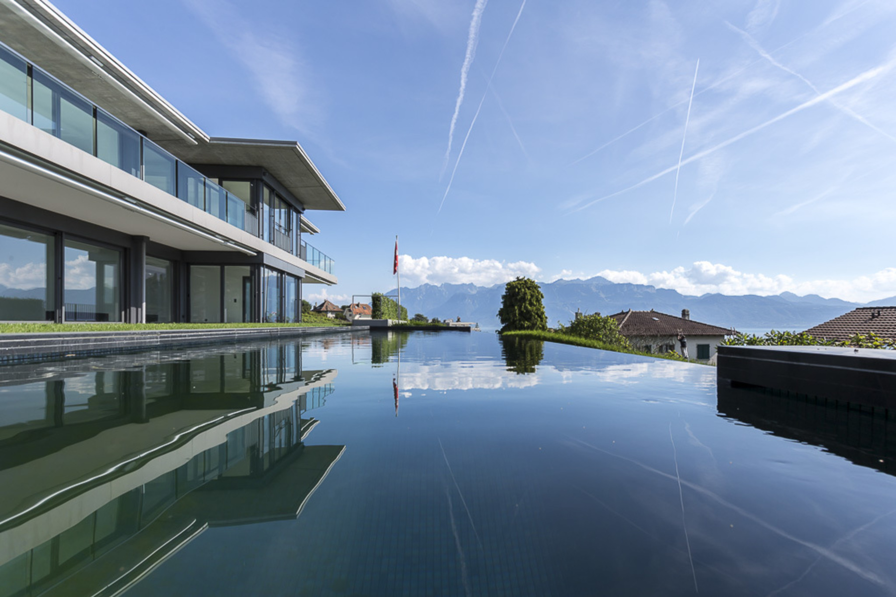 Apartment for Sale at 665 m² contemporary home with private pool Lutry Lutry, Vaud, 1095 Switzerland