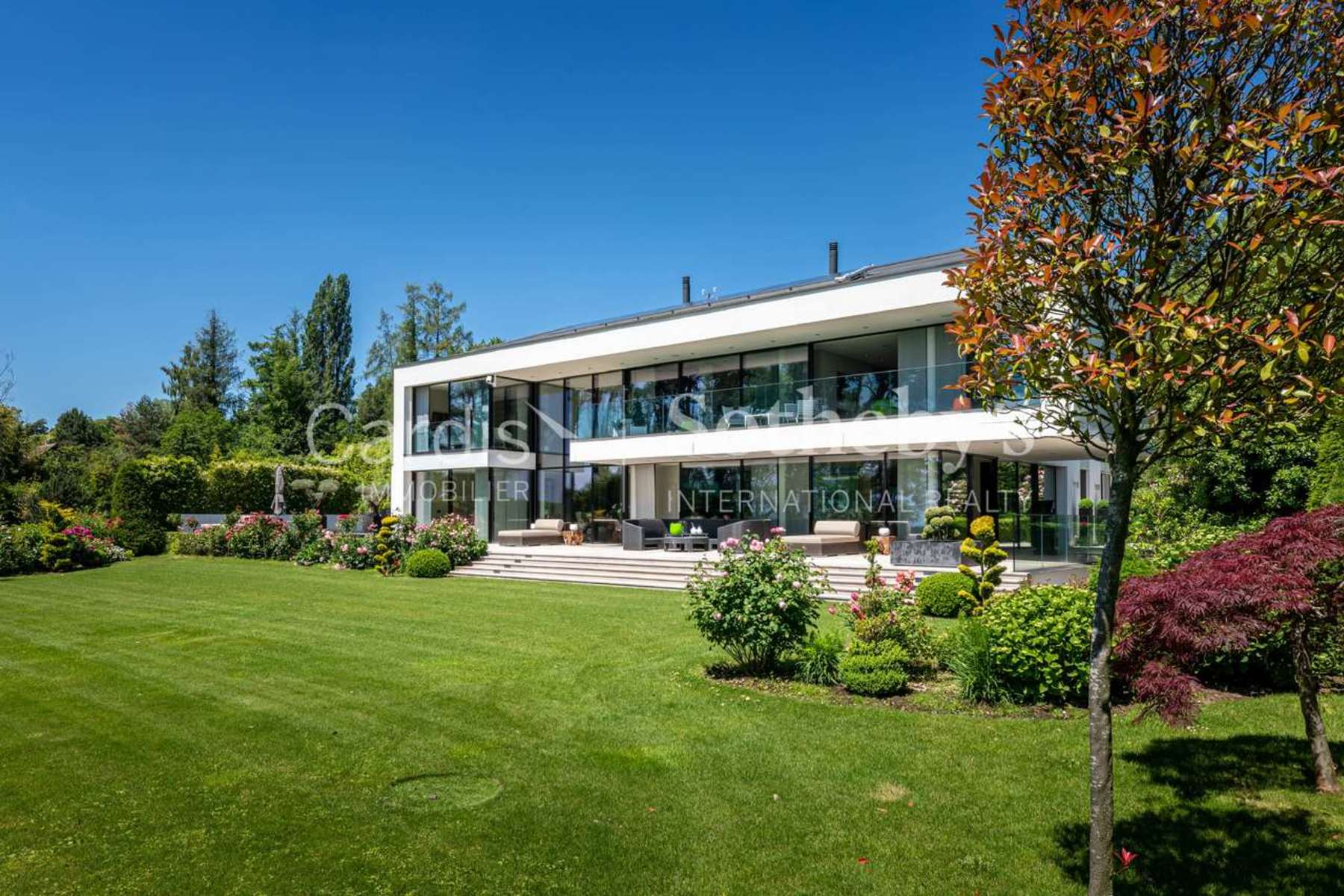 Single Family Homes for Sale at For Sale, Contemporary house, 1110 Morges, Réf 12775 Morges Morges, Vaud 1110 Switzerland
