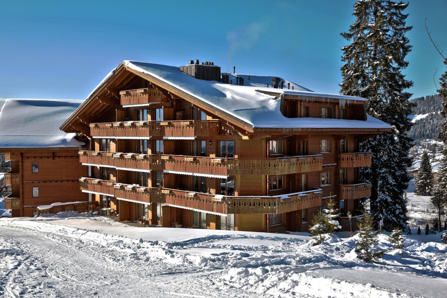 شقة بعمارة للـ Sale في Royalp 32D Domaine des Roches-Grises Villars-Sur-Ollon, Vaud, 1884 Switzerland